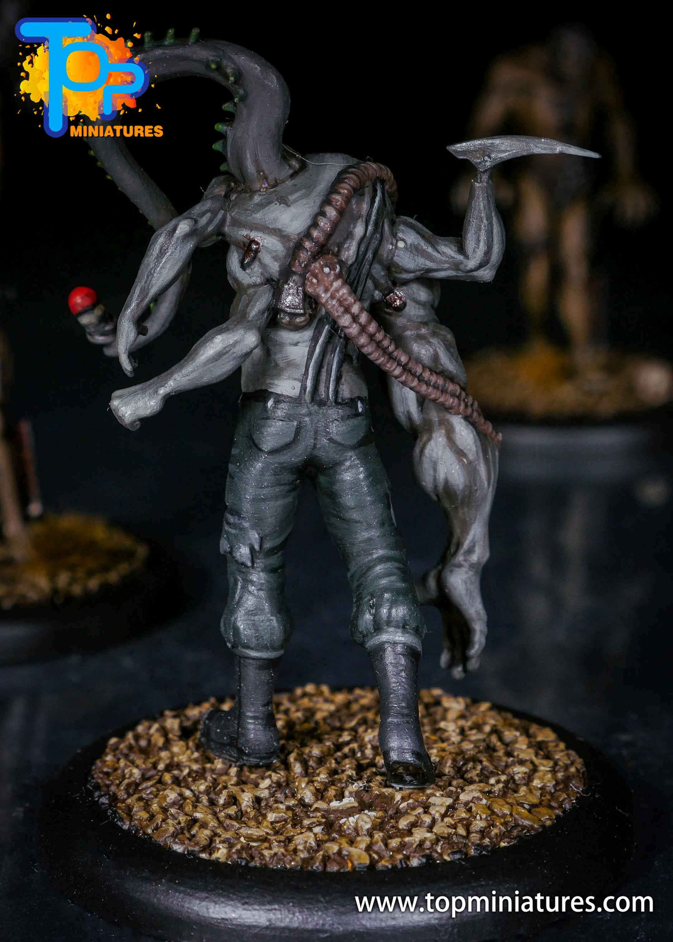 Malifaux the Resurrectionists painted Archie (2)