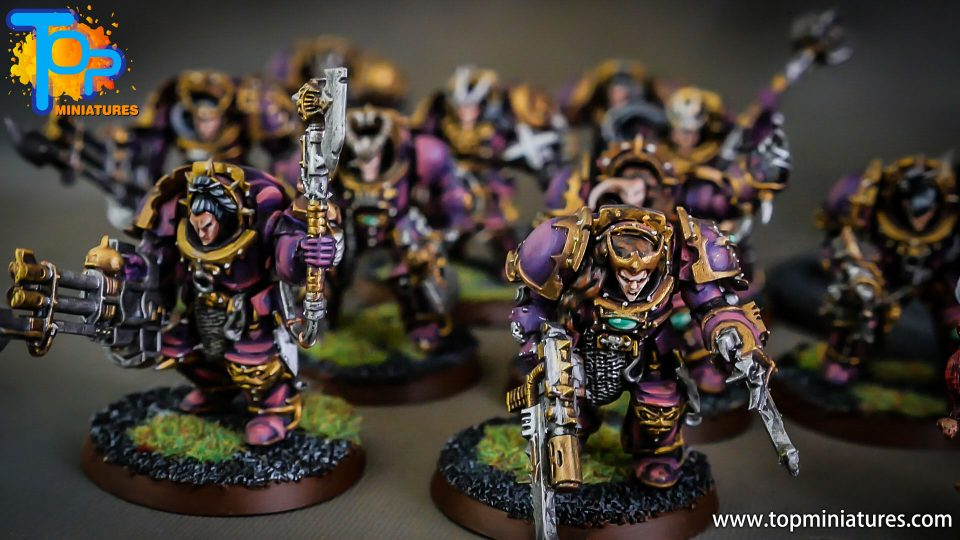 Slaanesh Female Terminators