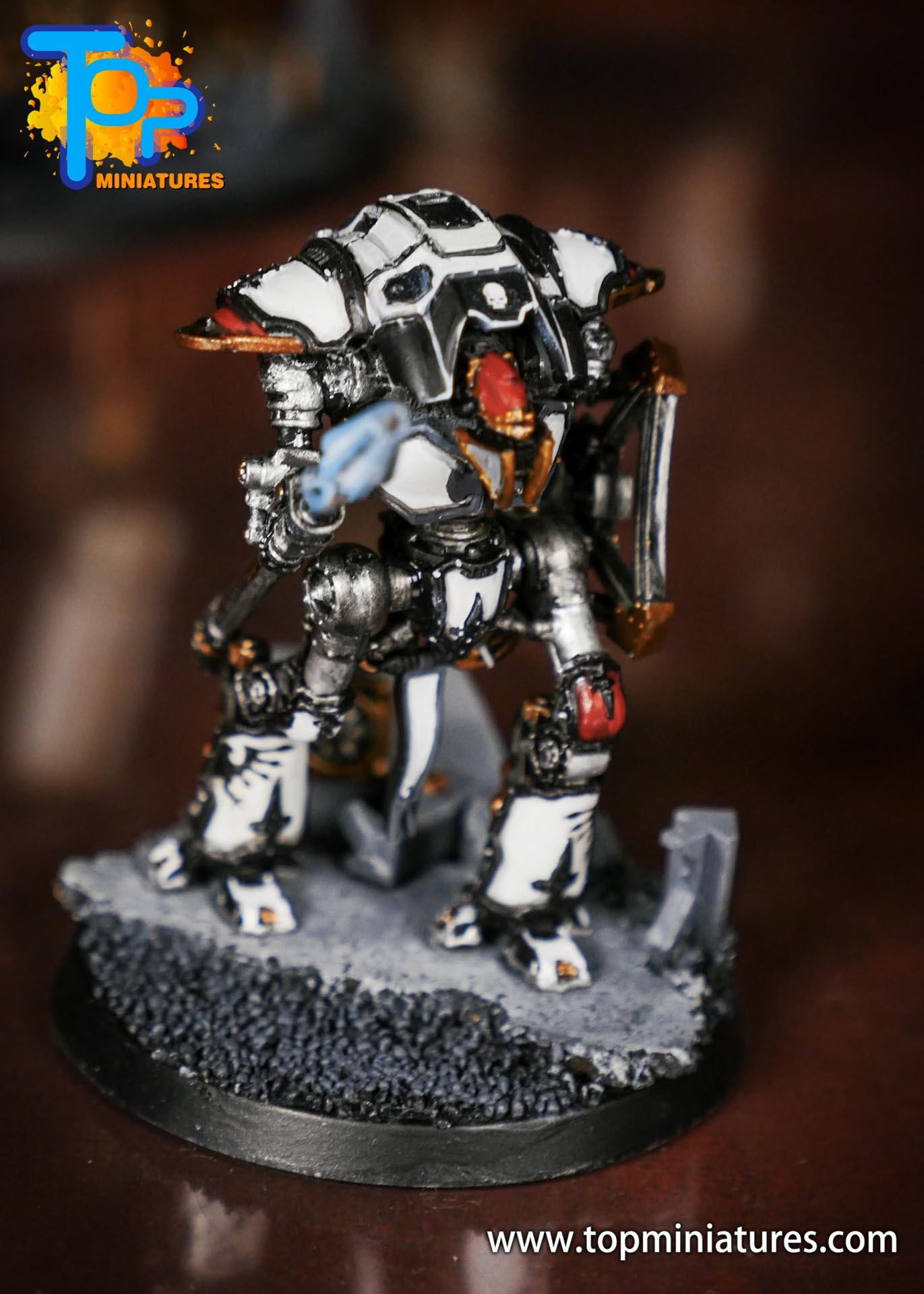 Adeptus Titanicus Grandmaster cerastus knights (10)