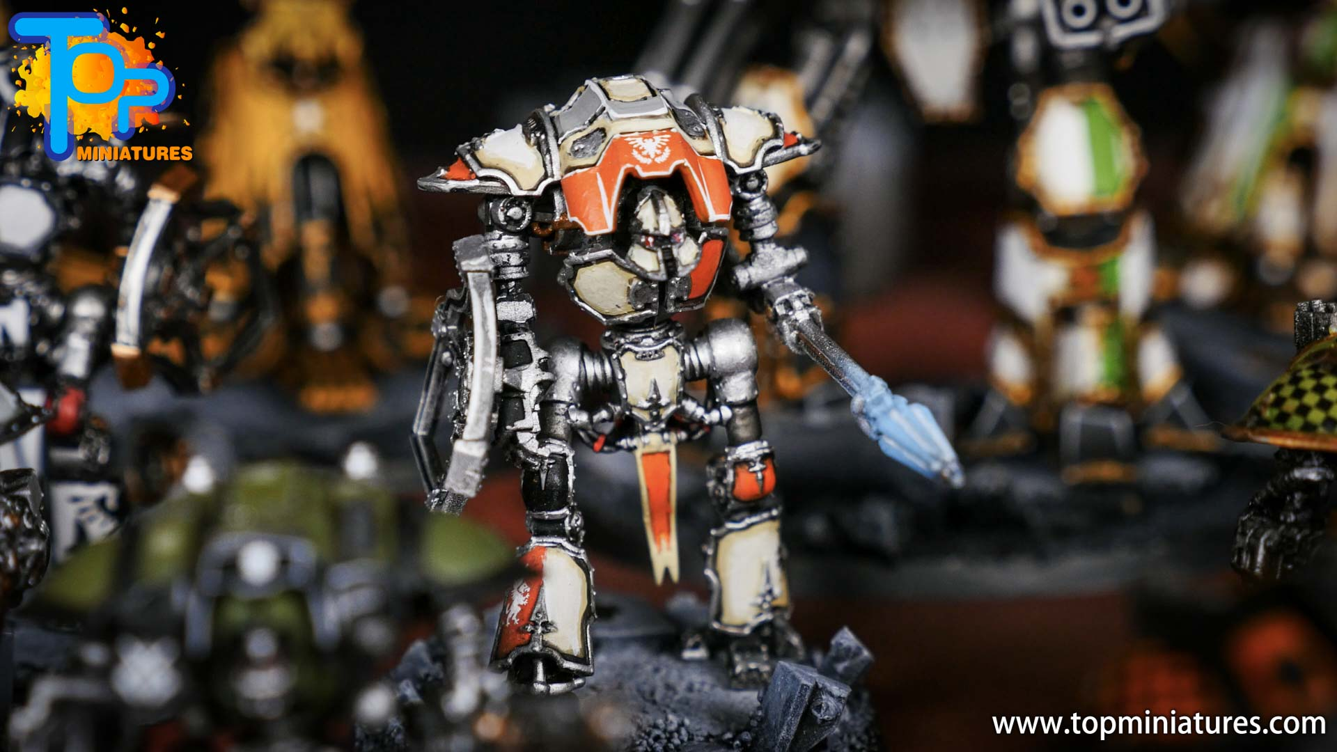 Adeptus Titanicus Grandmaster cerastus knights (9)