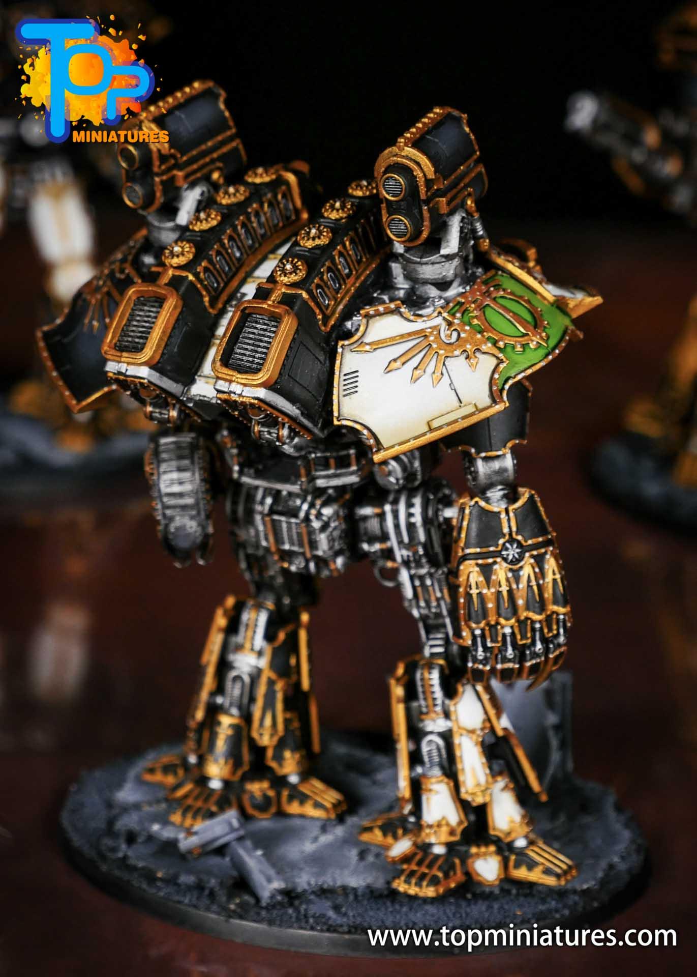 Adeptus Titanicus grandmaster legio defensor warlord (10)