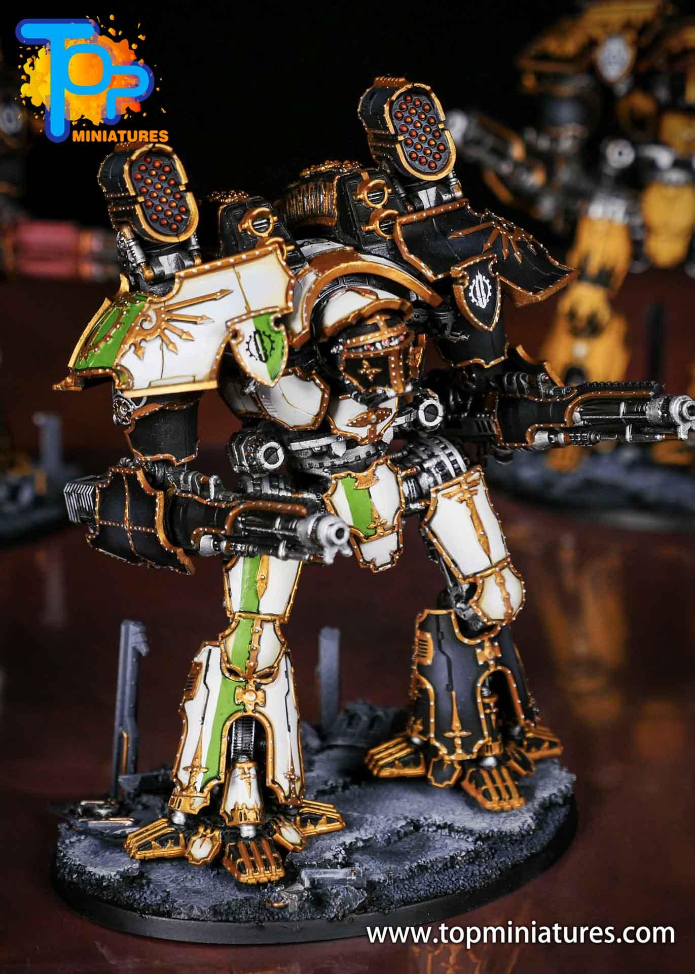 Adeptus Titanicus grandmaster legio defensor warlord (11)