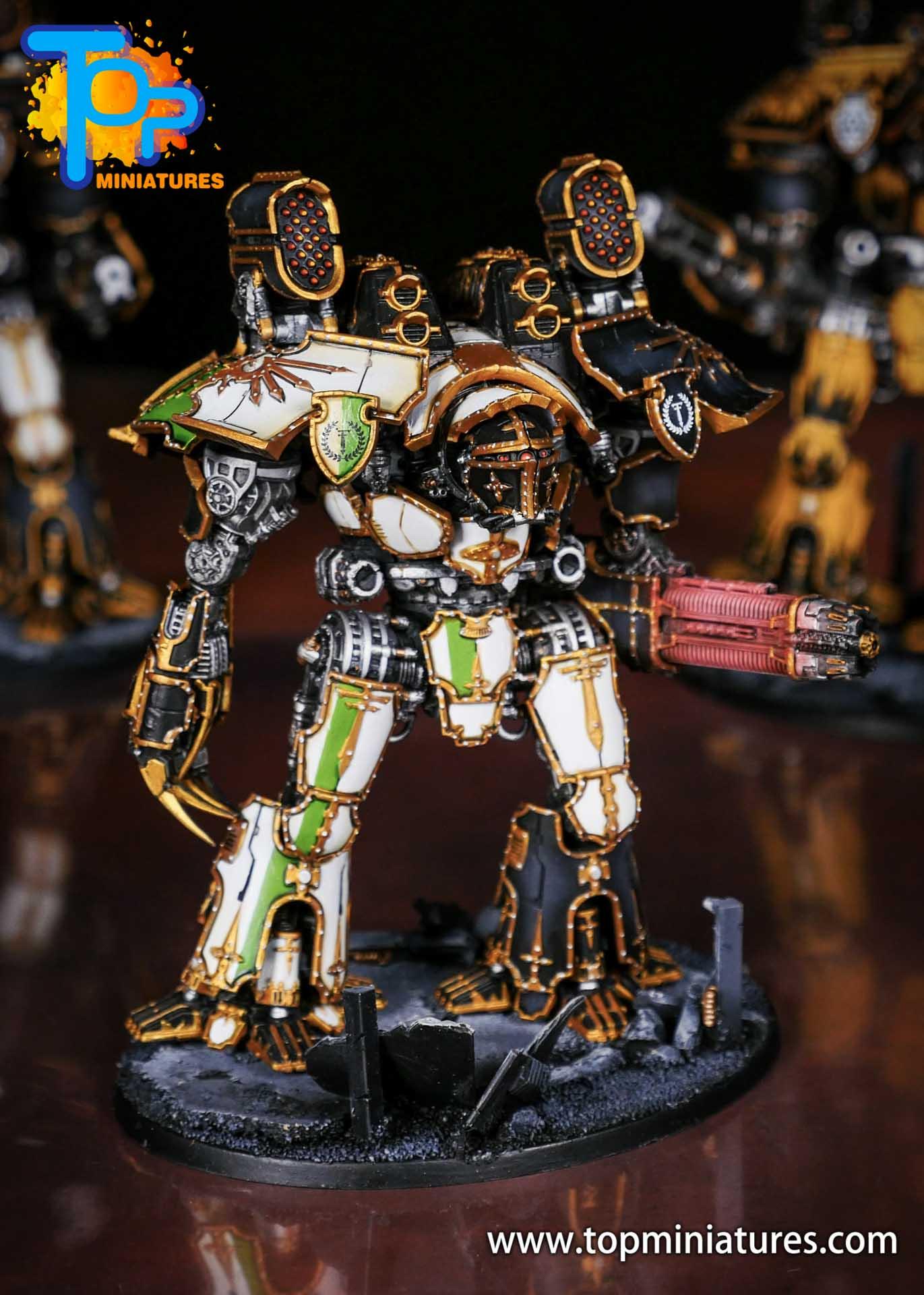 Adeptus Titanicus grandmaster legio defensor warlord (8)