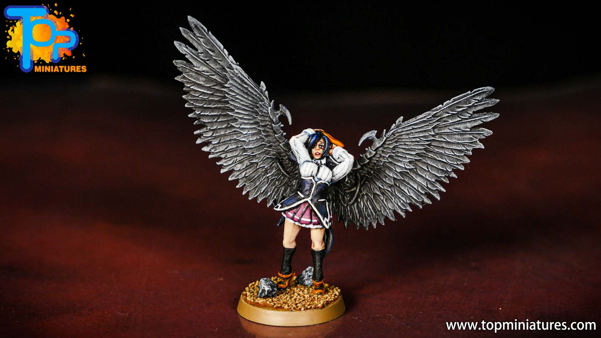Akeno himejima high school DxD miniature (2)