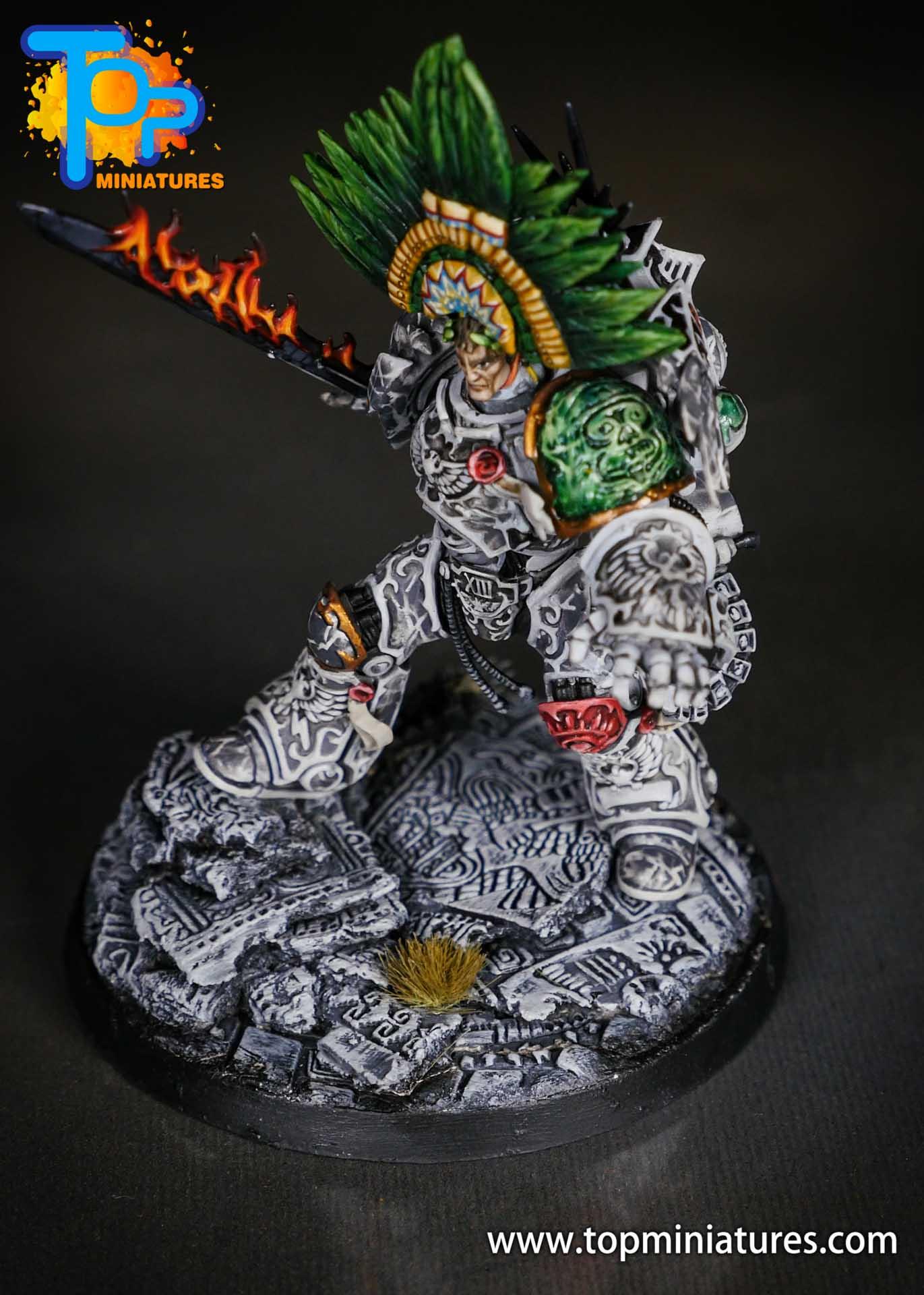 Aztec Roboute Guilliman stone conversion (2)