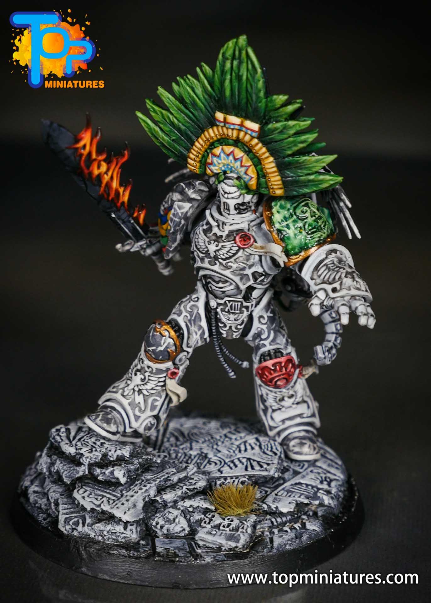 Aztec Roboute Guilliman stone conversion (7)