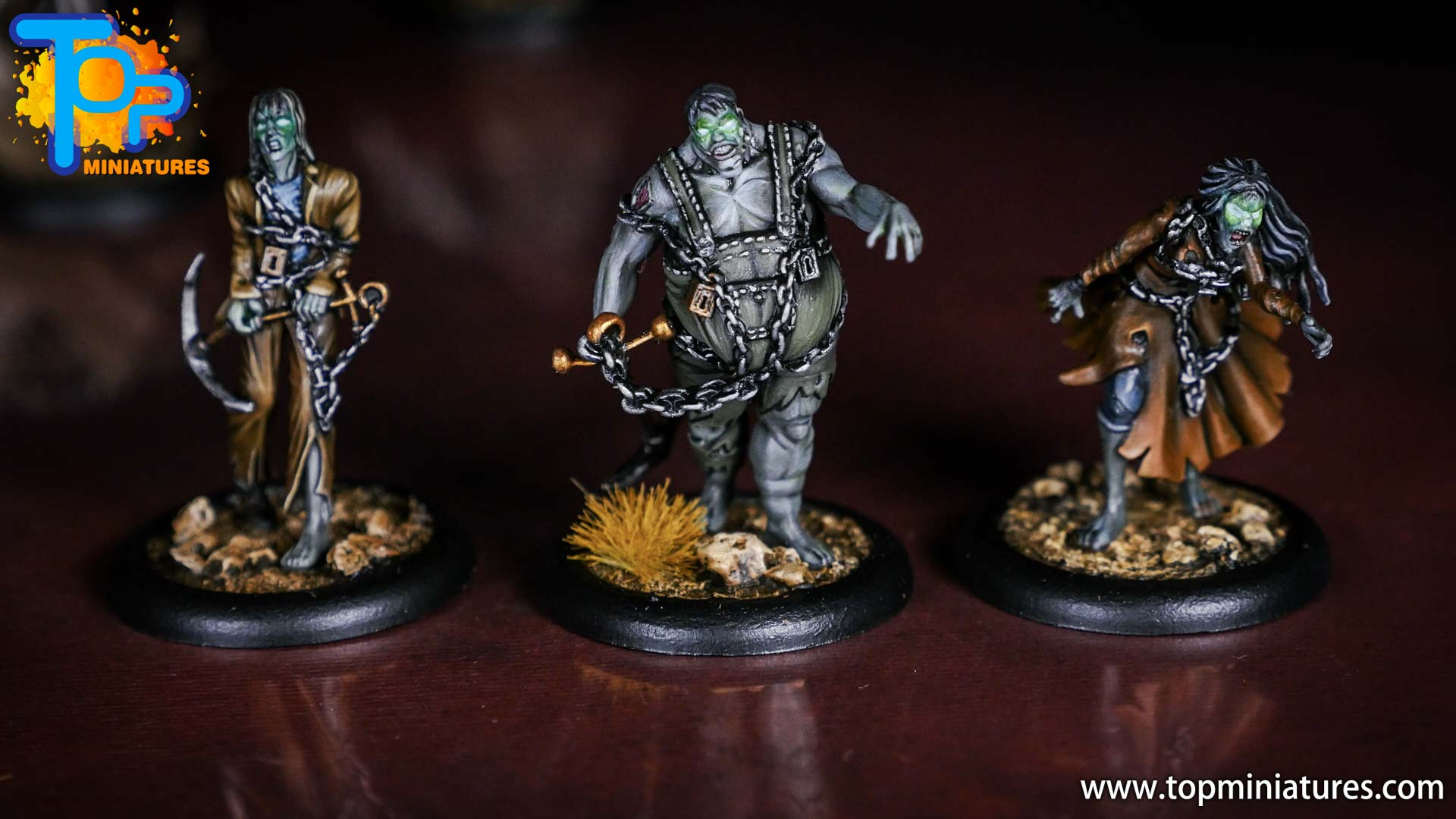 Malifaux Resurrectionists painted The Drowned (2)