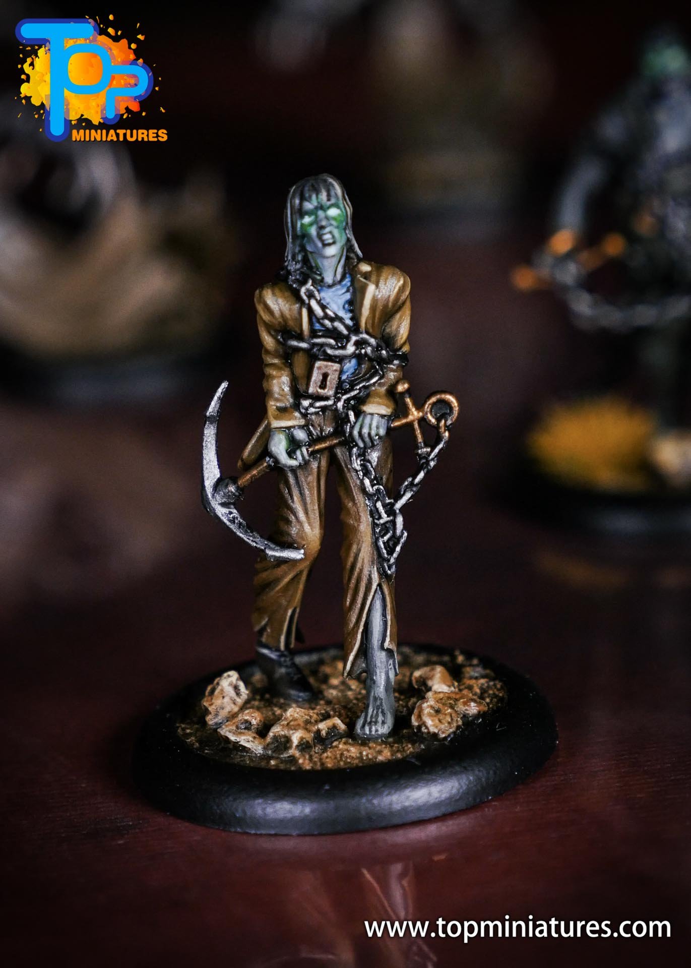 Malifaux Resurrectionists painted The Drowned (3)