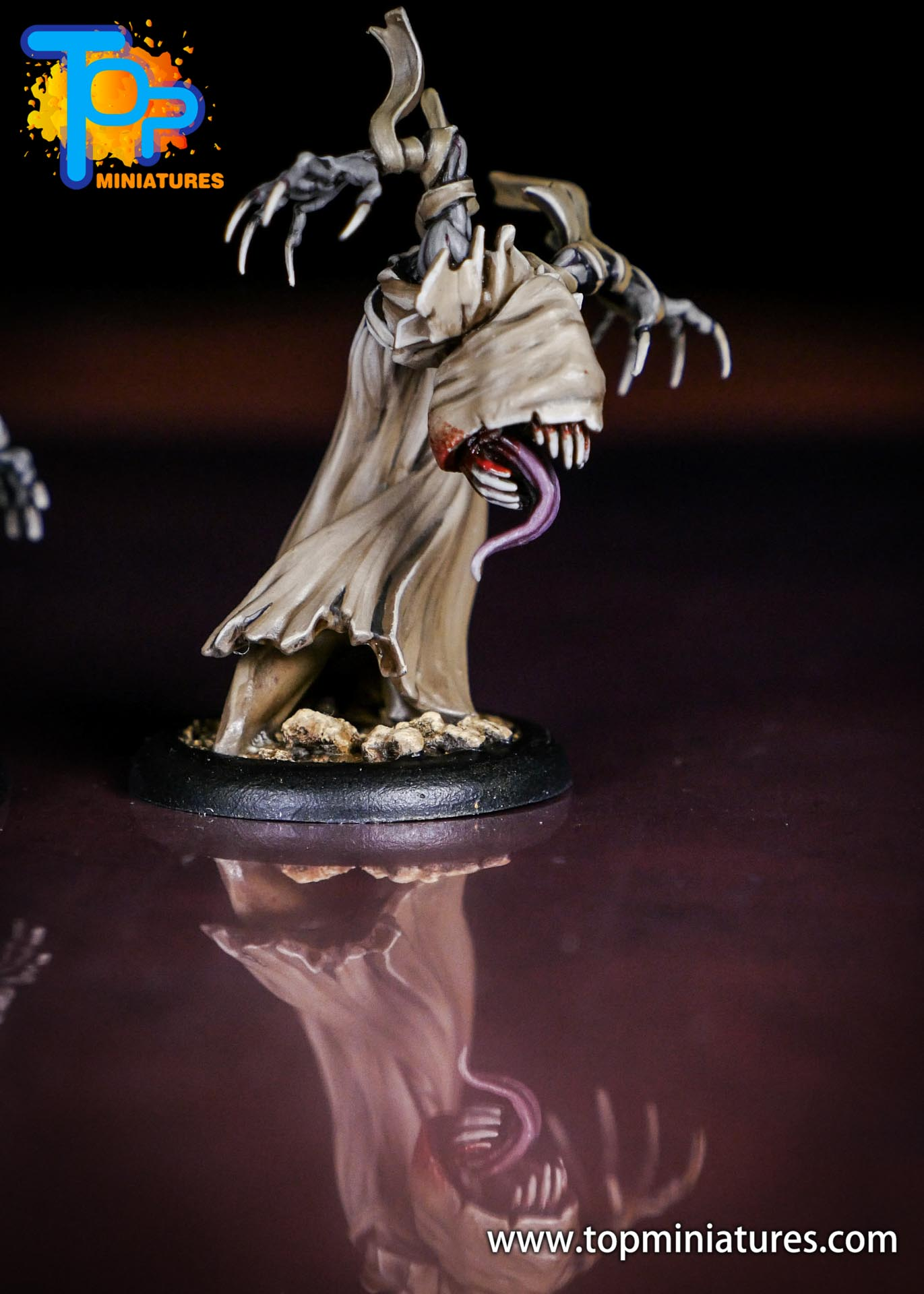 Malifaux the Resurrectionists painted Gaki (3)