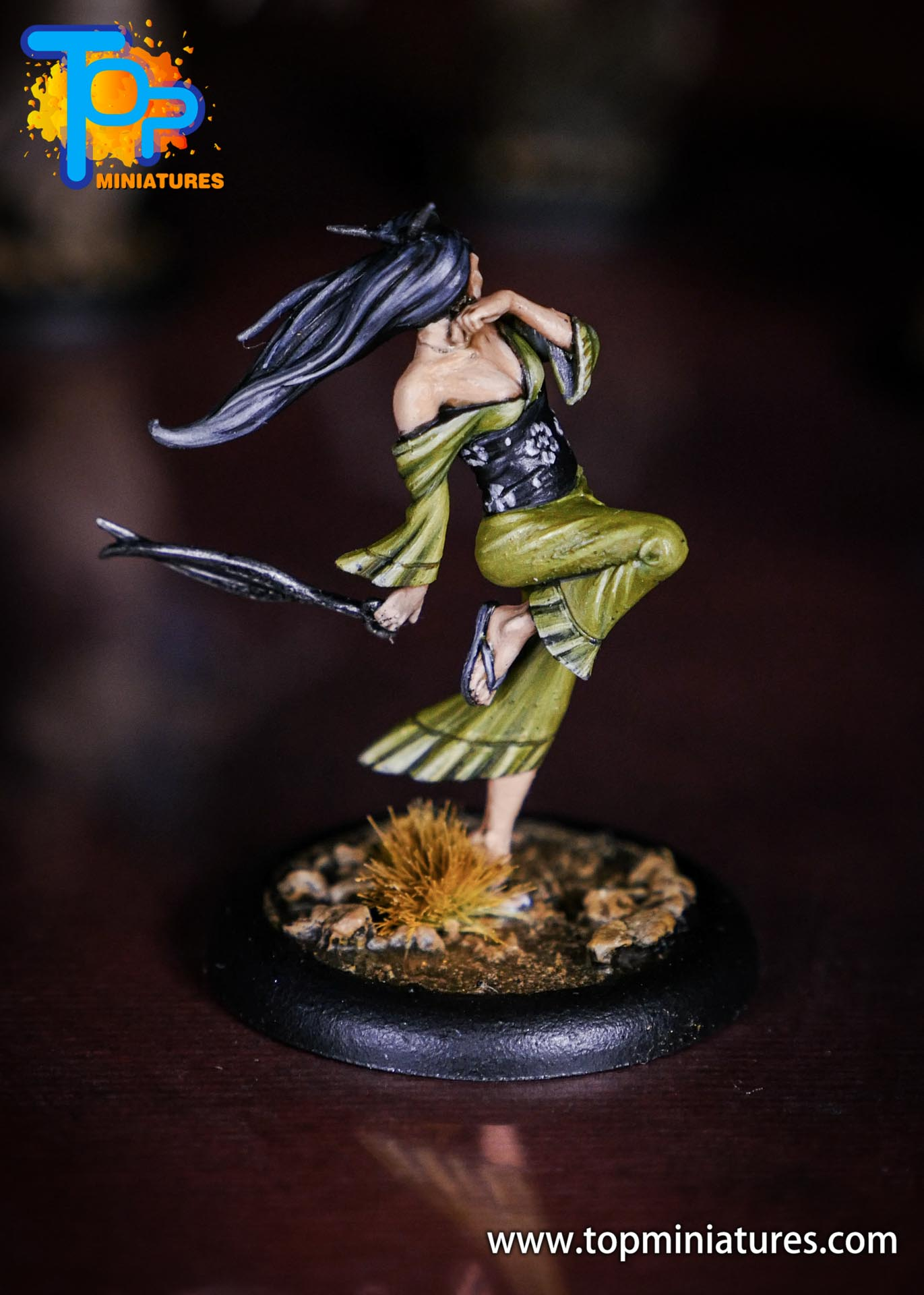 Malifaux the Resurrectionists painted Kirai (1)