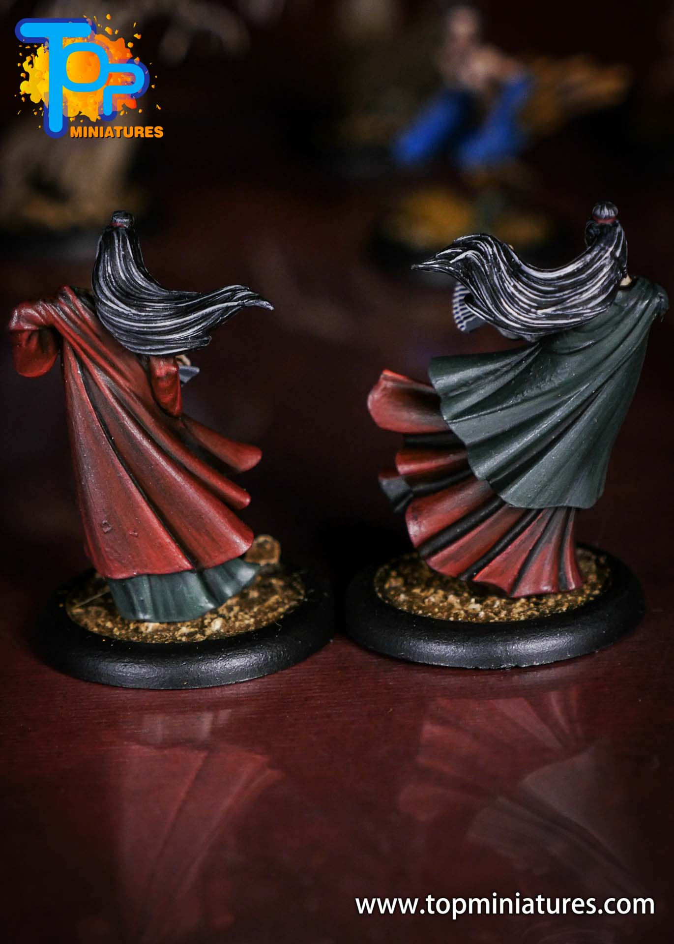 Malifaux the Resurrectionists painted Onryo (2)