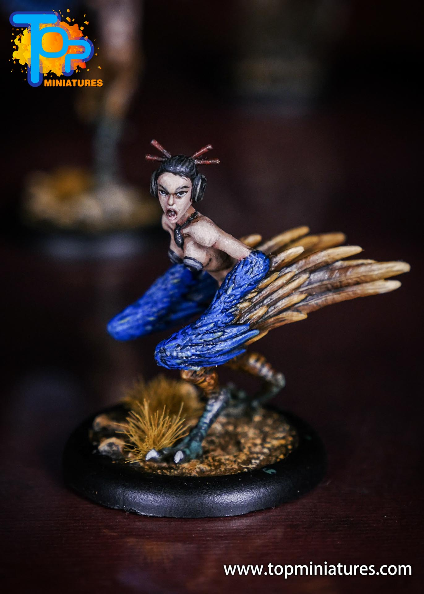Malifaux the Resurrectionists painted Shikome (1)