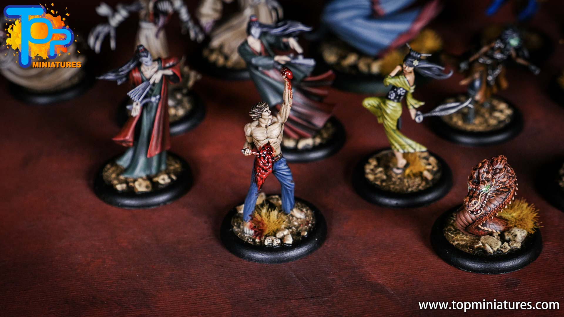 Malifaux the Resurrectionists painted crew (7)
