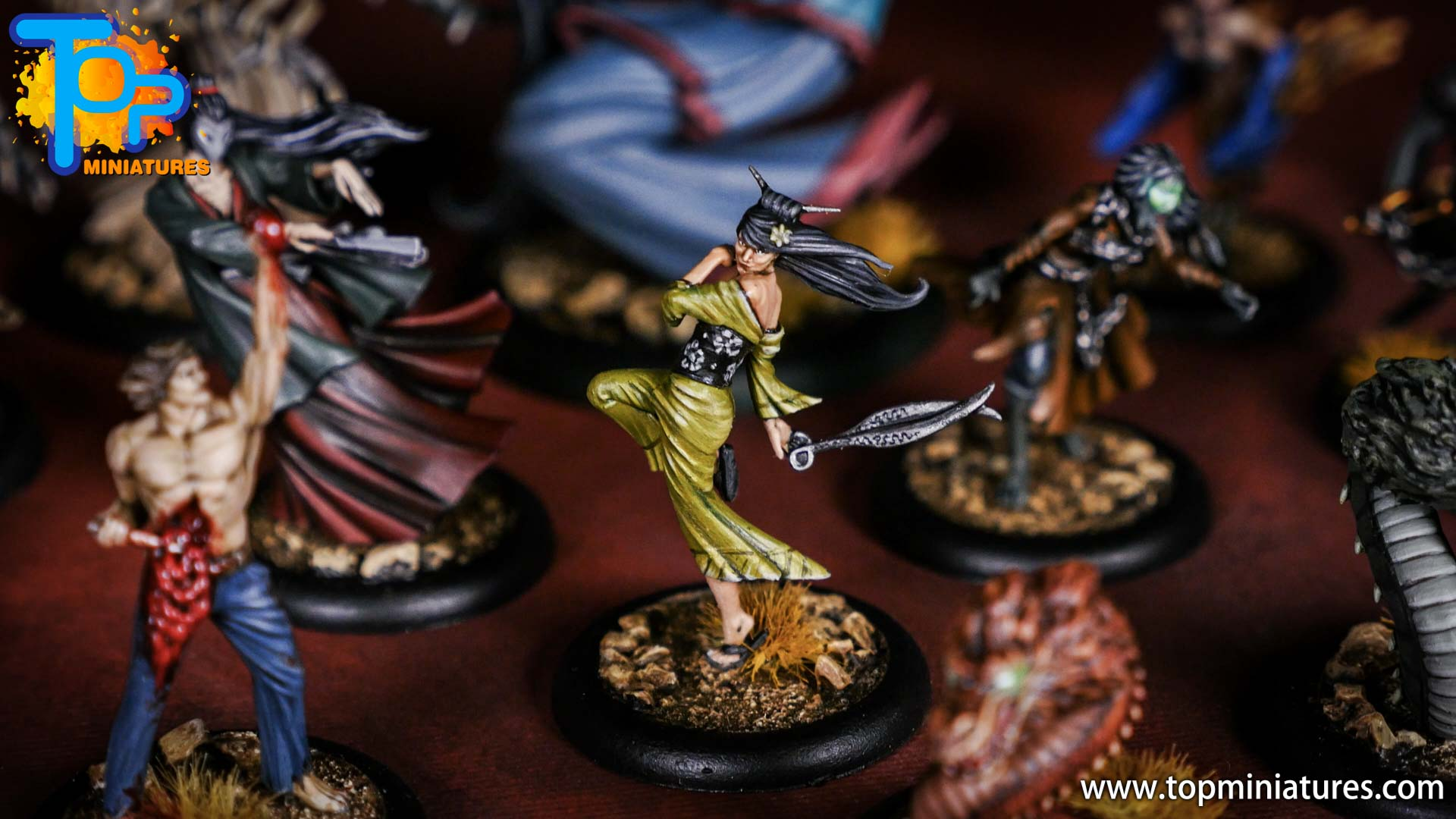 Malifaux the Resurrectionists painted crew (8)