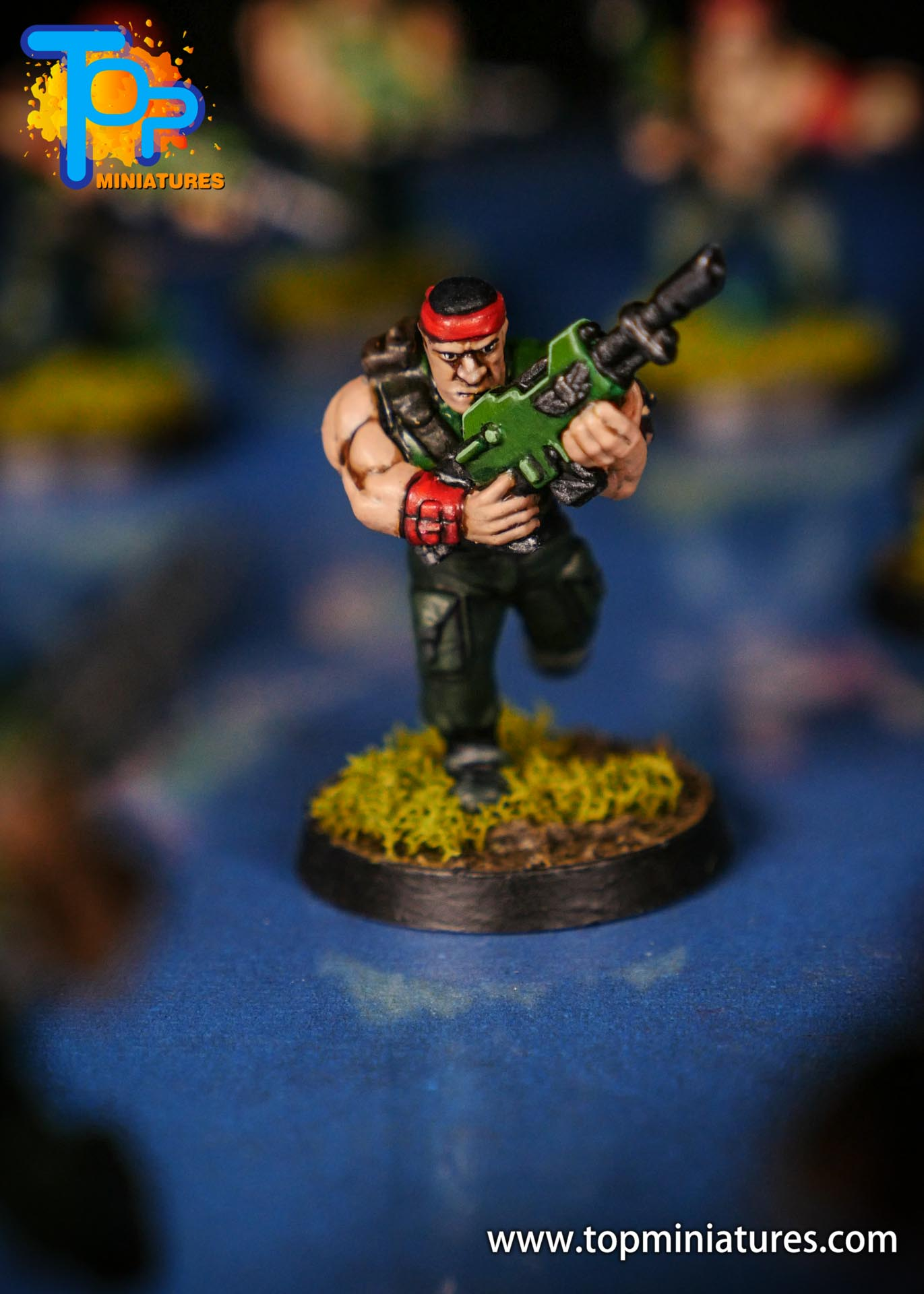 Painted catachan jungle fighters (12)