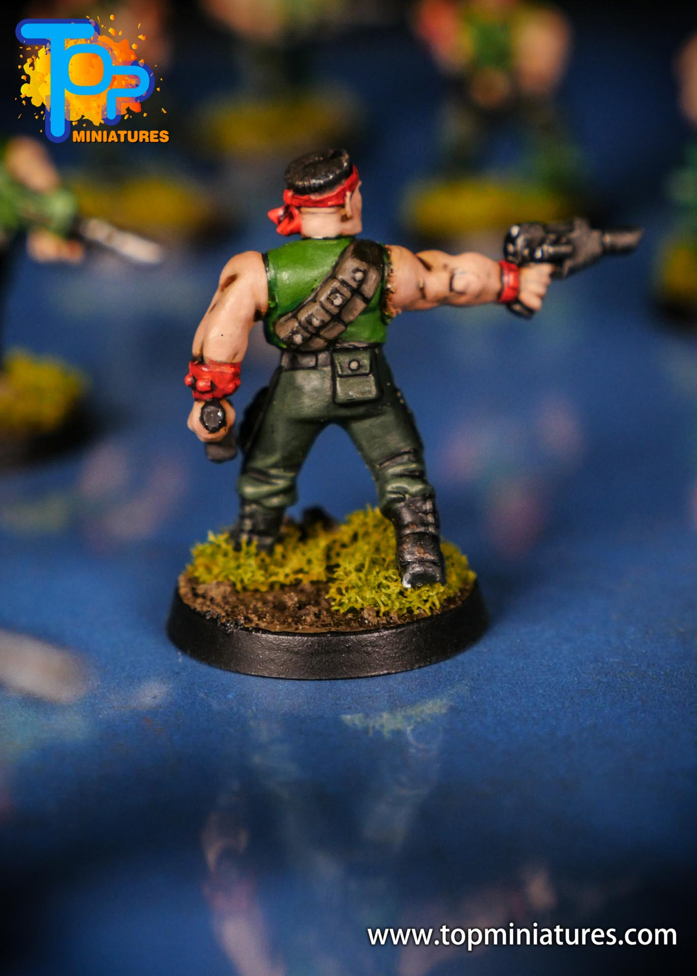 Painted catachan jungle fighters (4)