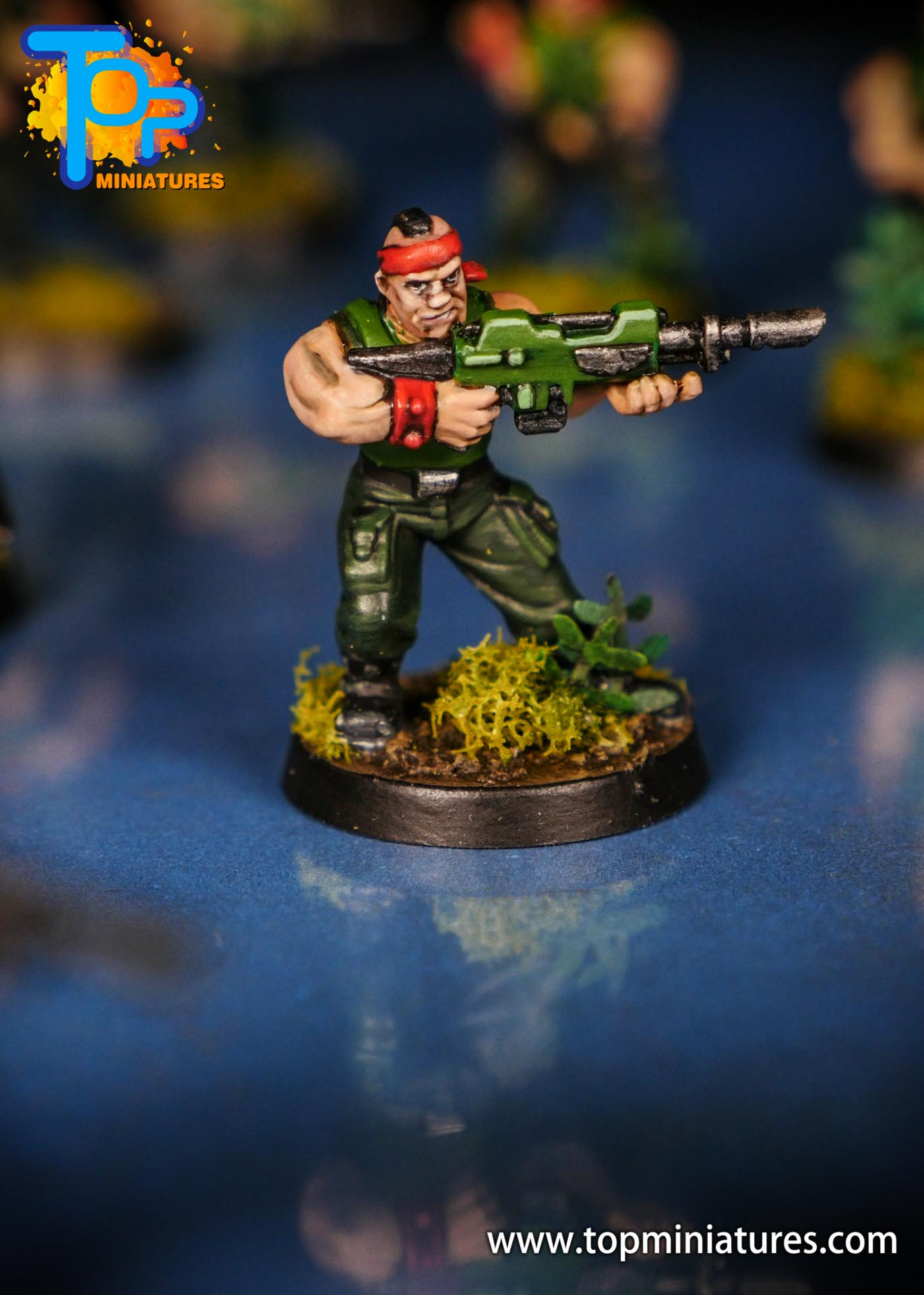 Painted catachan jungle fighters (6)