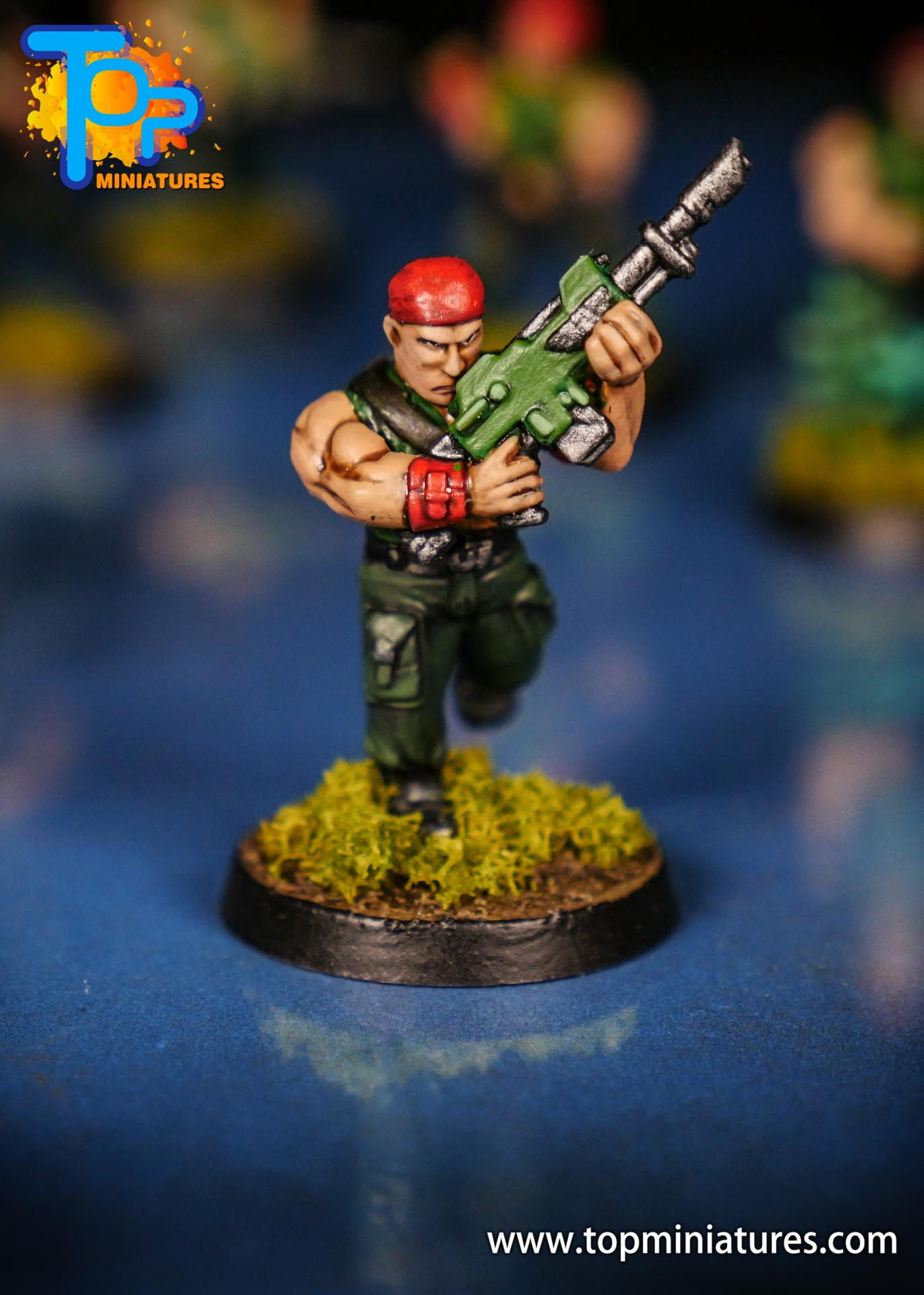 Painted catachan jungle fighters (7)