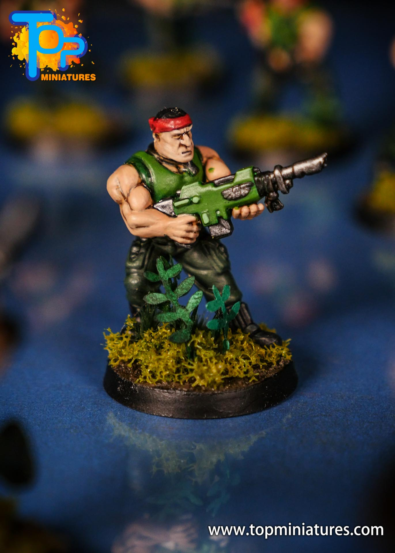 Painted catachan jungle fighters (9)