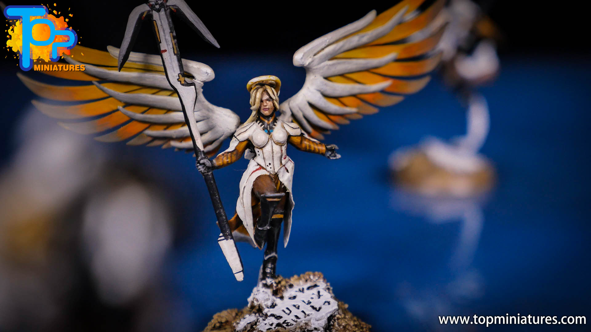 Saint celestine converted Overwatch Mercy (6)