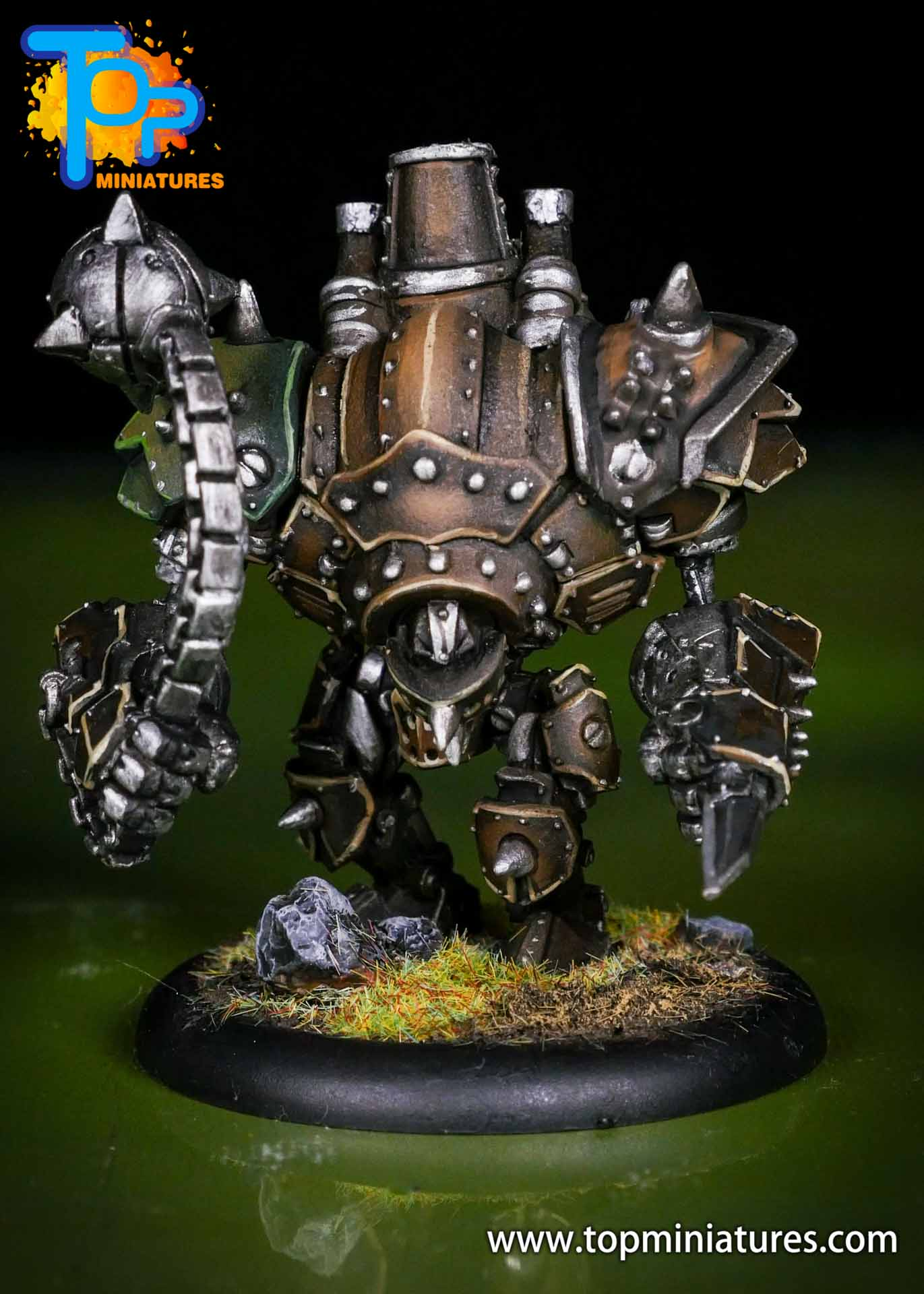 Warmachine Mercenaries Cygnar Mangler Warjack (1)