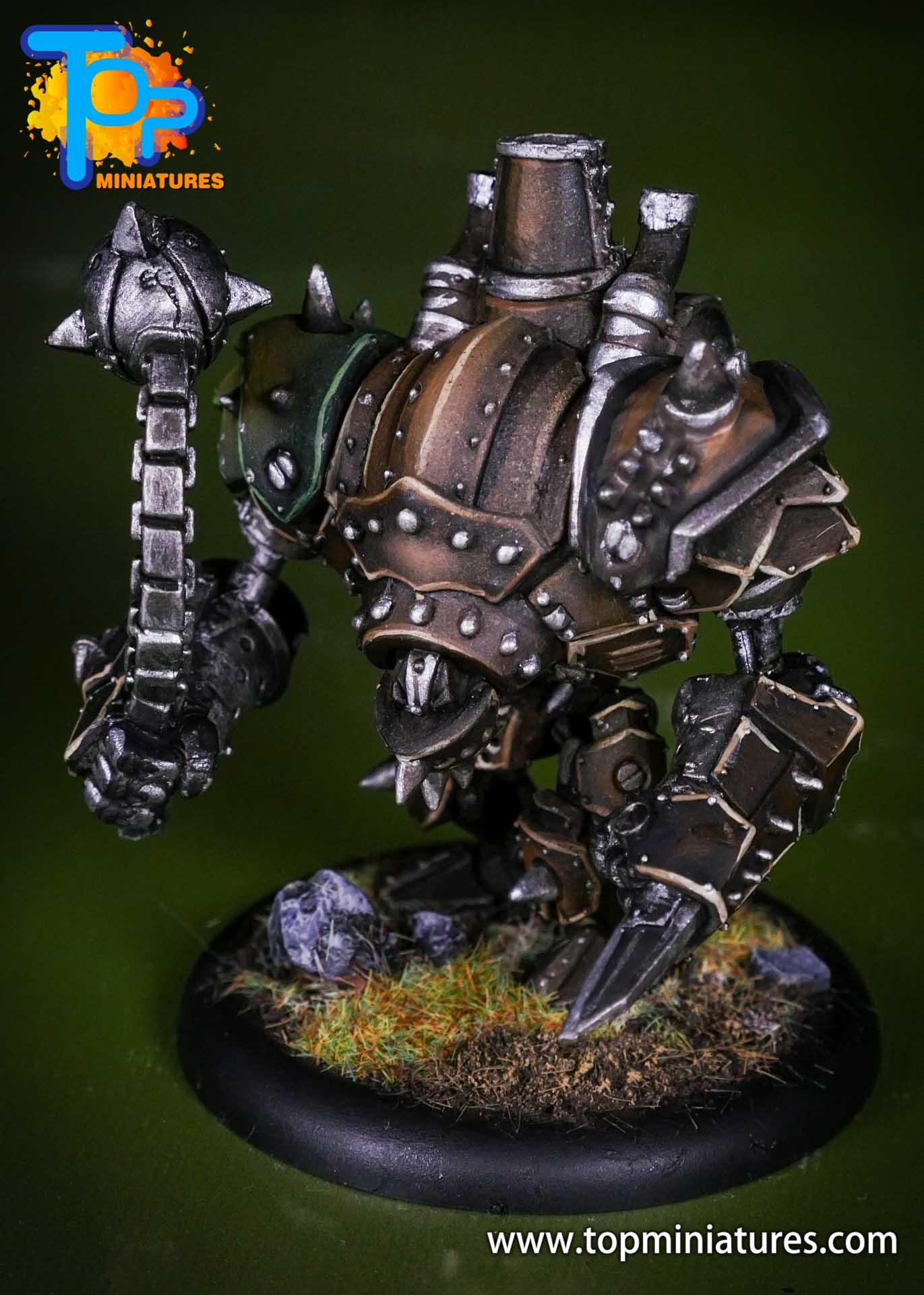 Warmachine Mercenaries Cygnar Mangler Warjack (2)