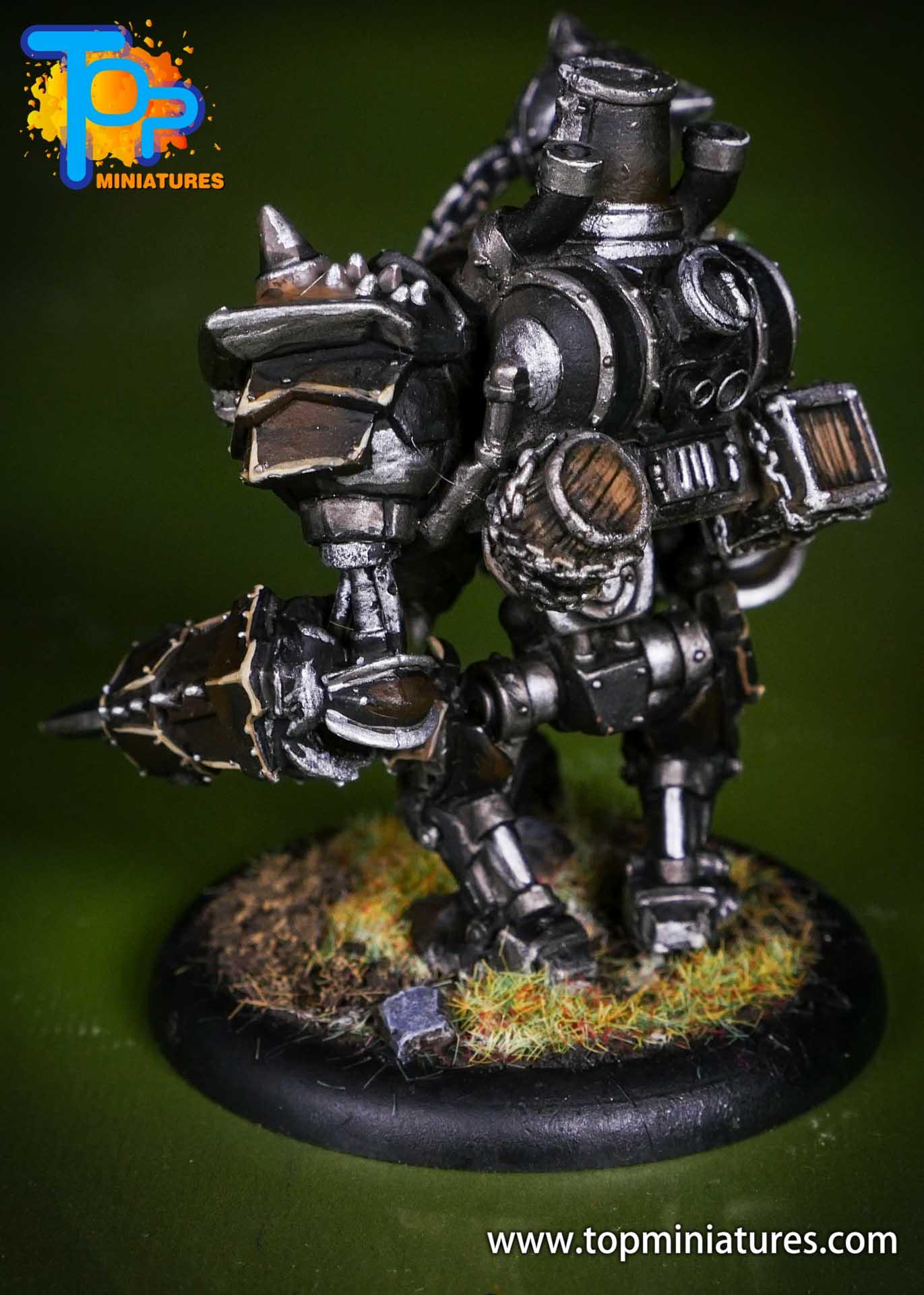 Warmachine Mercenaries Cygnar Mangler Warjack (5)