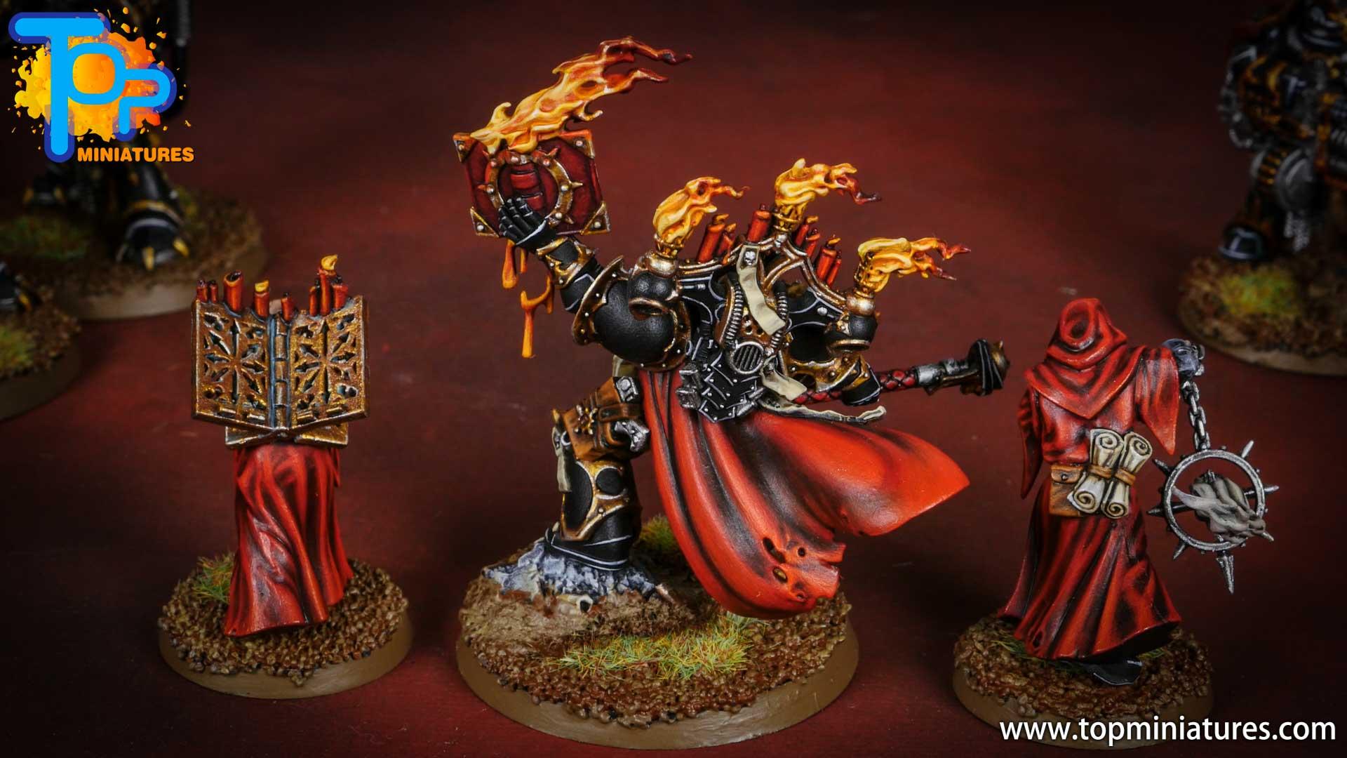 Black legion Dark apostle & acolytes