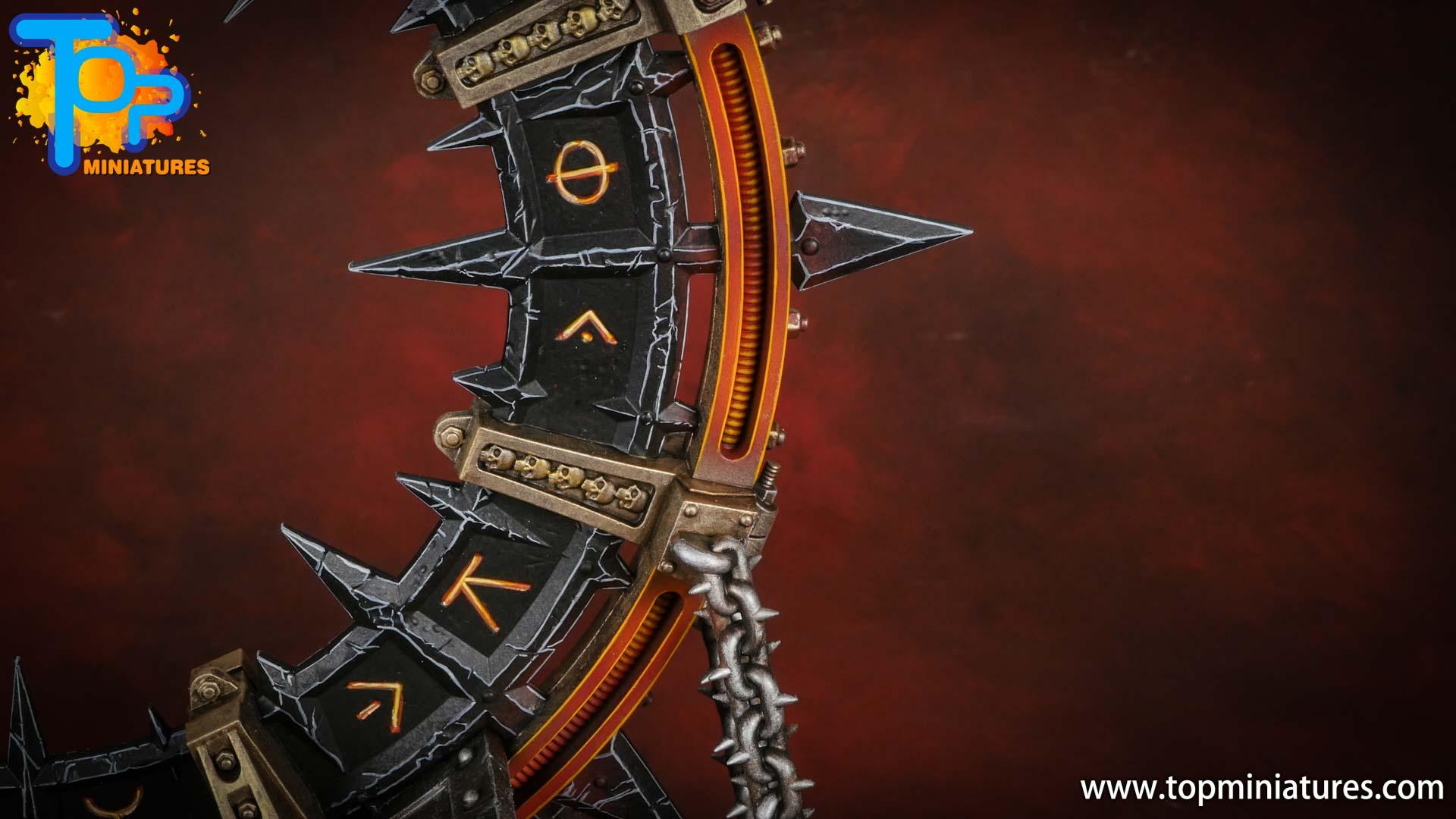 Black legion painted noctilith crown (1)