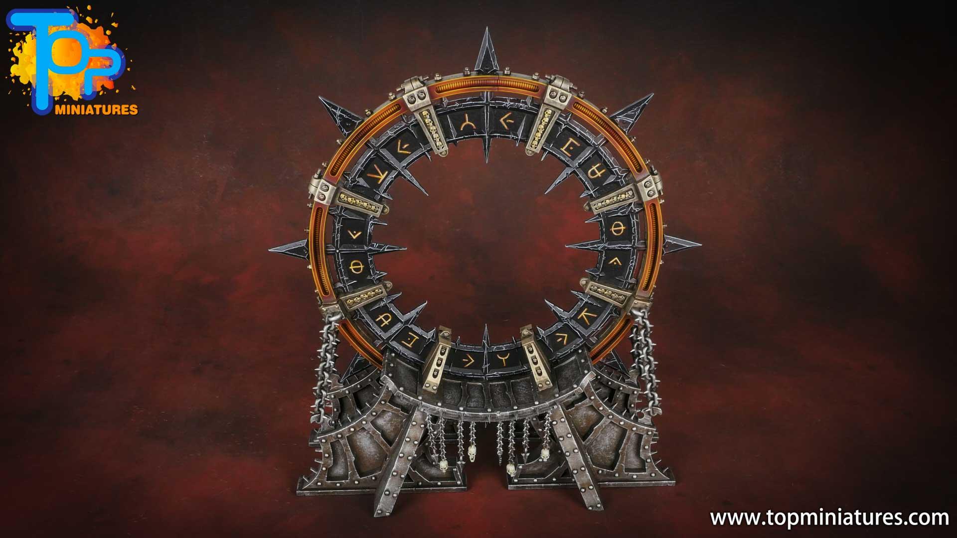 Black legion painted noctilith crown (2)