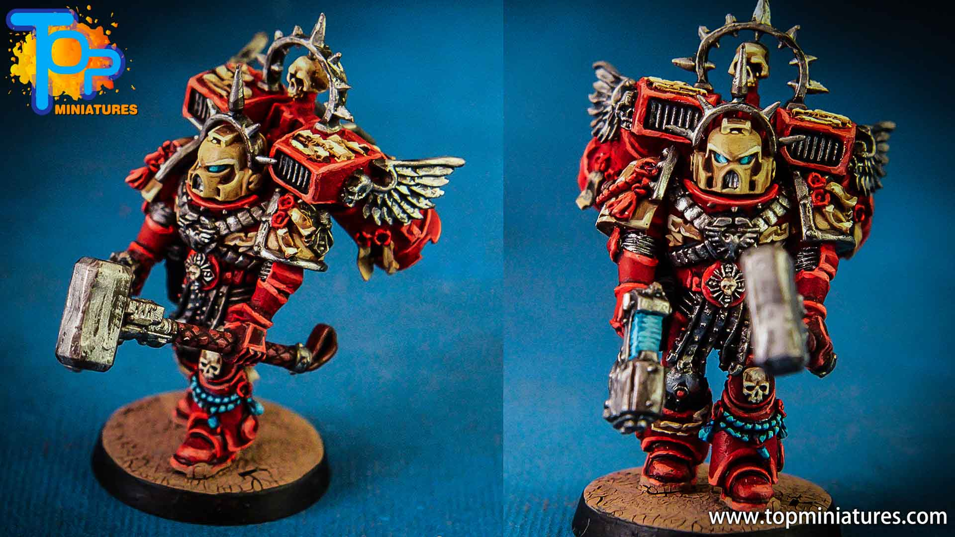 Blood Raven captain - Top Miniatures (7)