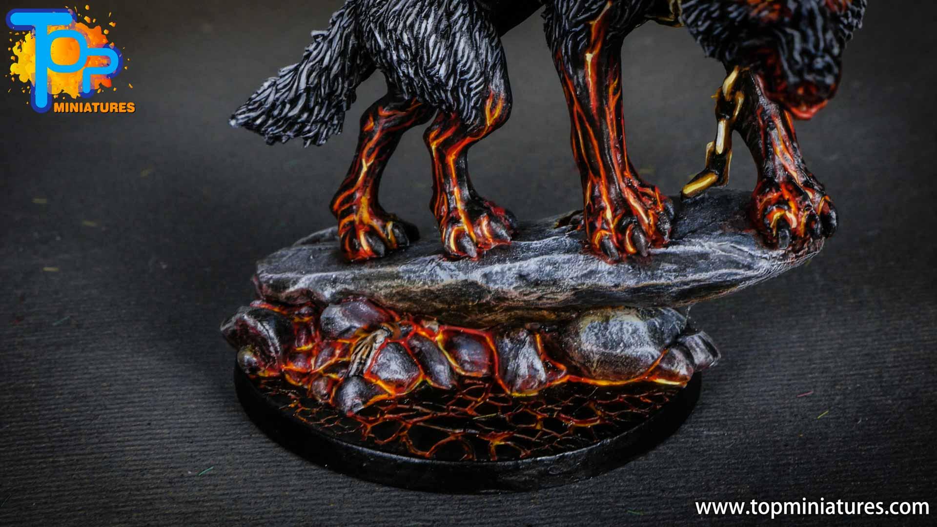 Blood rage painted fenrir monster (4)