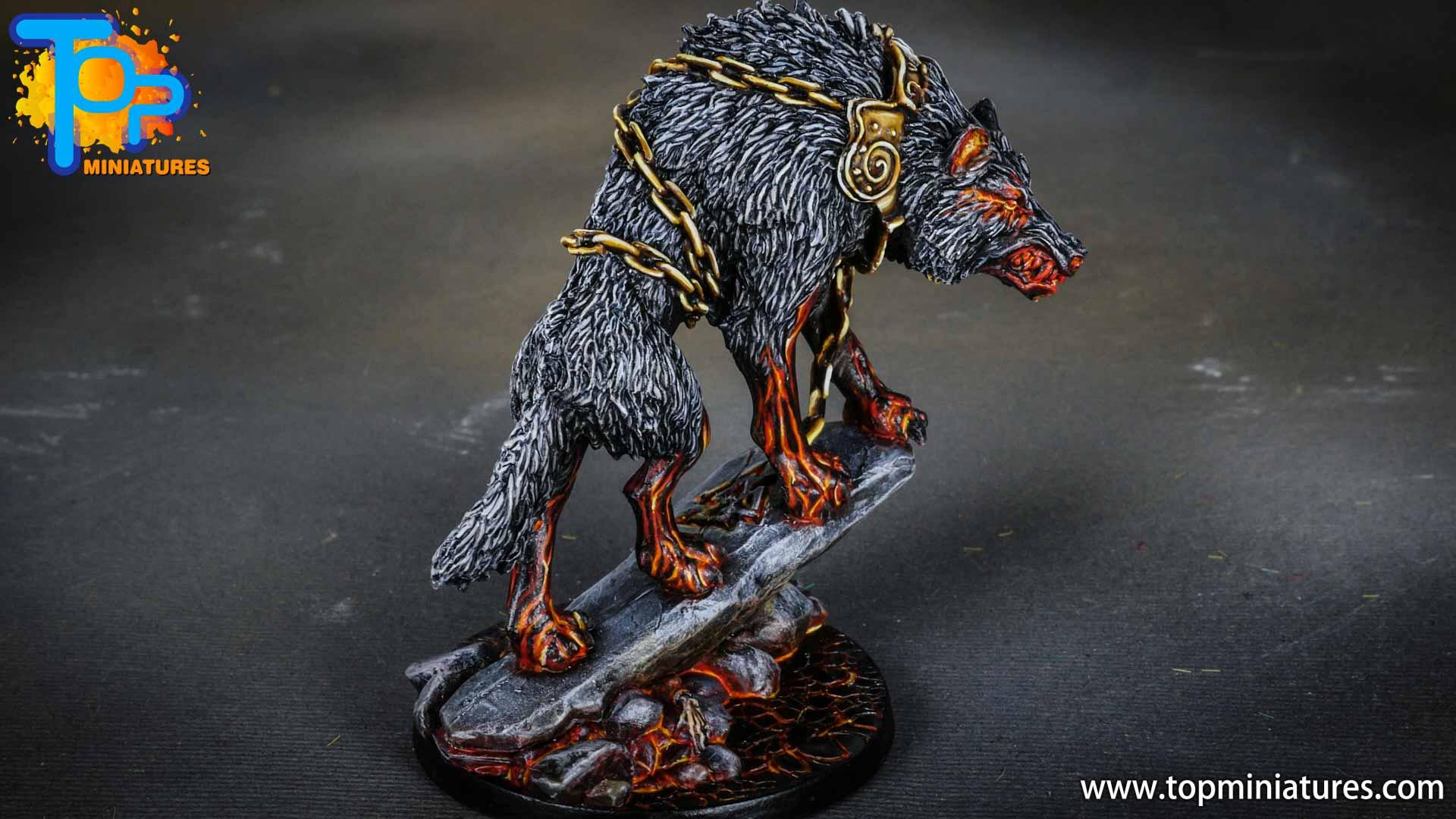 Blood rage painted fenrir monster (8)