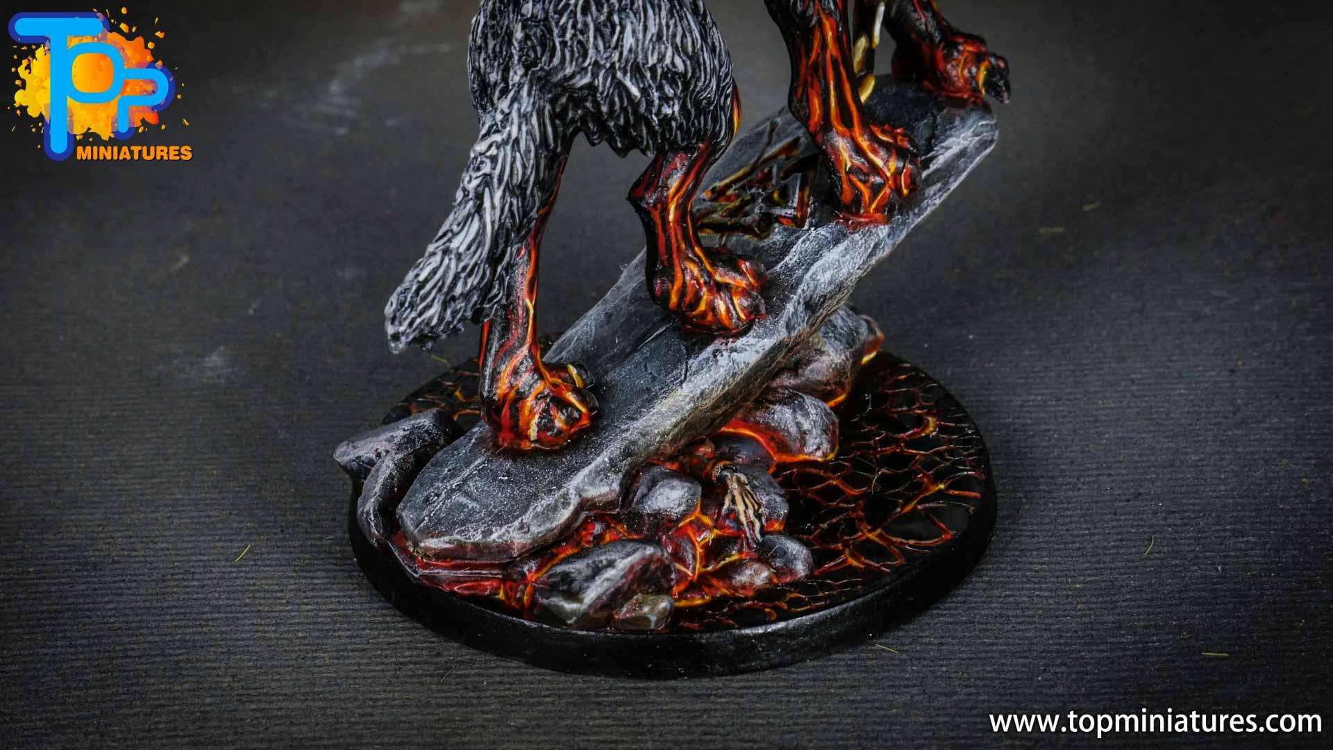 Blood rage painted fenrir monster (9)
