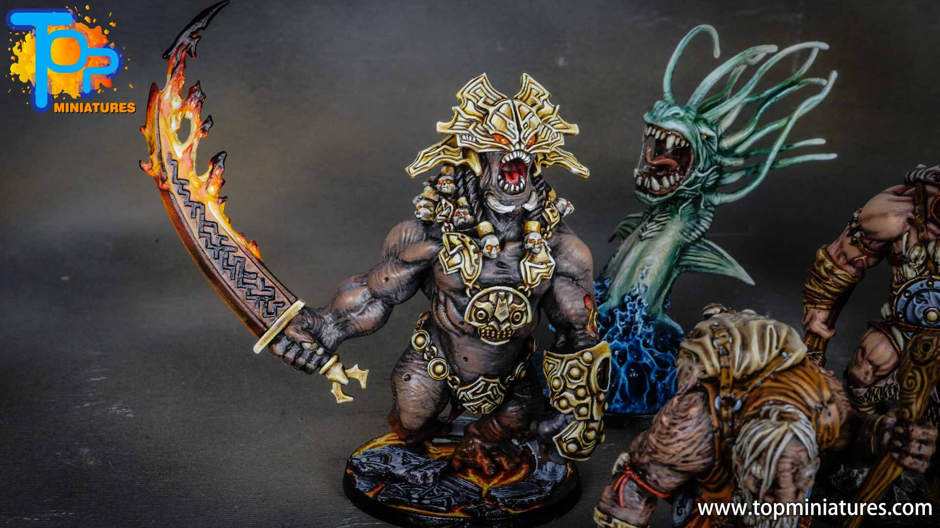 Blood rage painted fire giant (1)