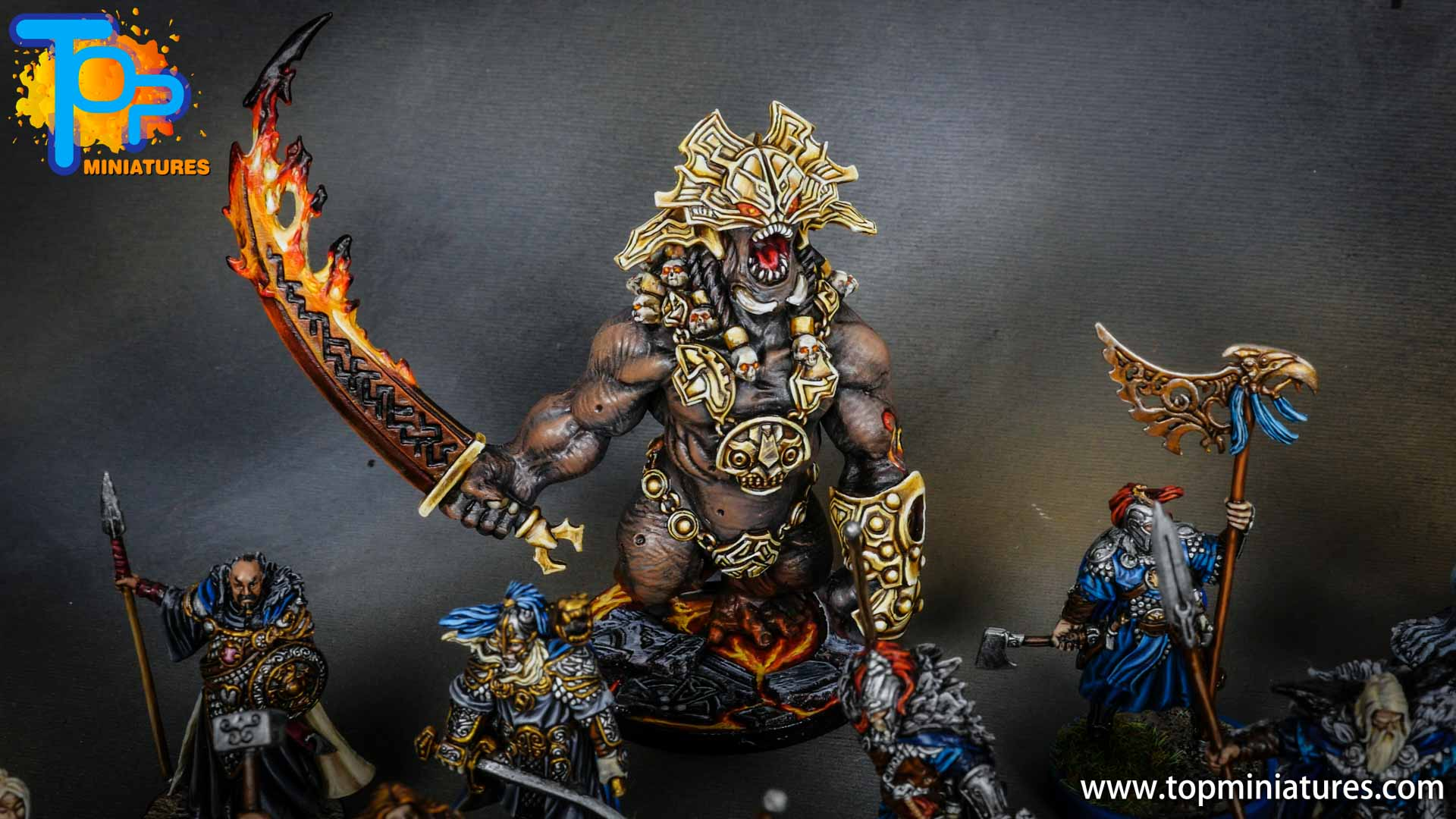 Blood rage painted fire giant (2)