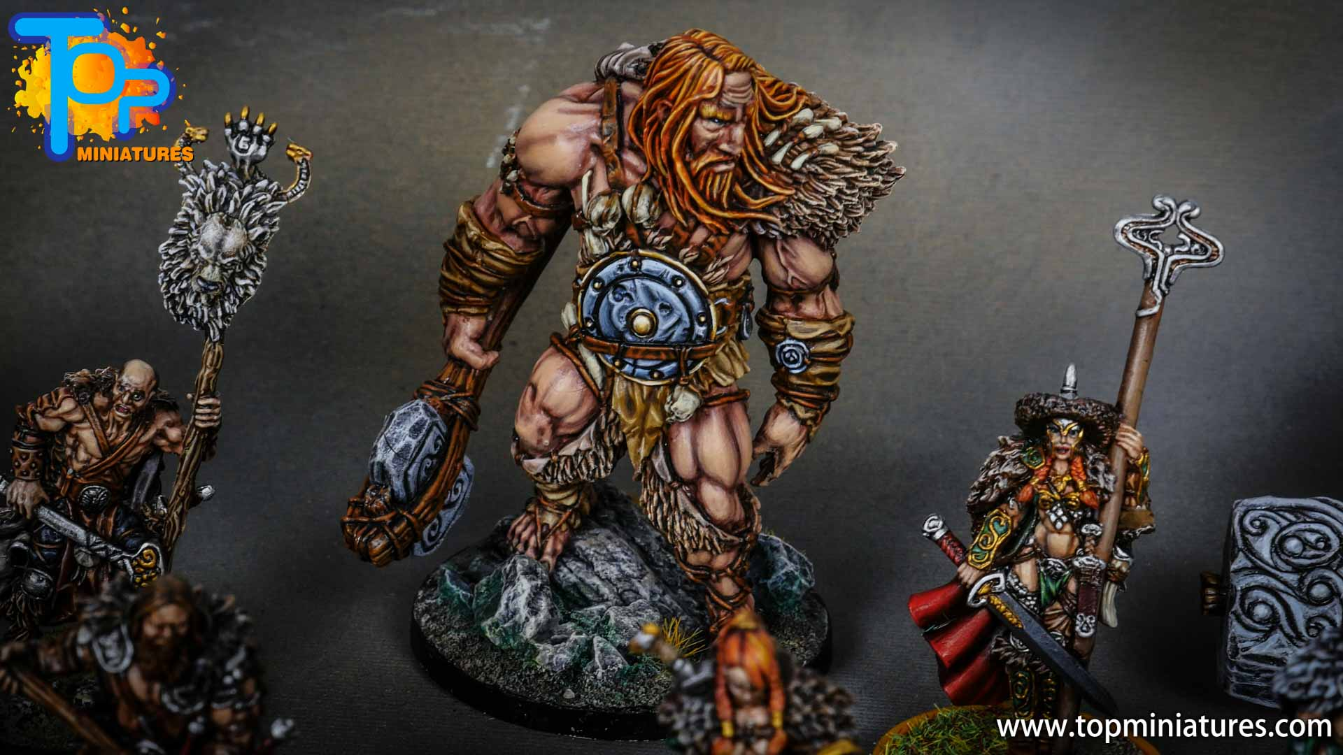 Blood rage painted mountain giant (1)