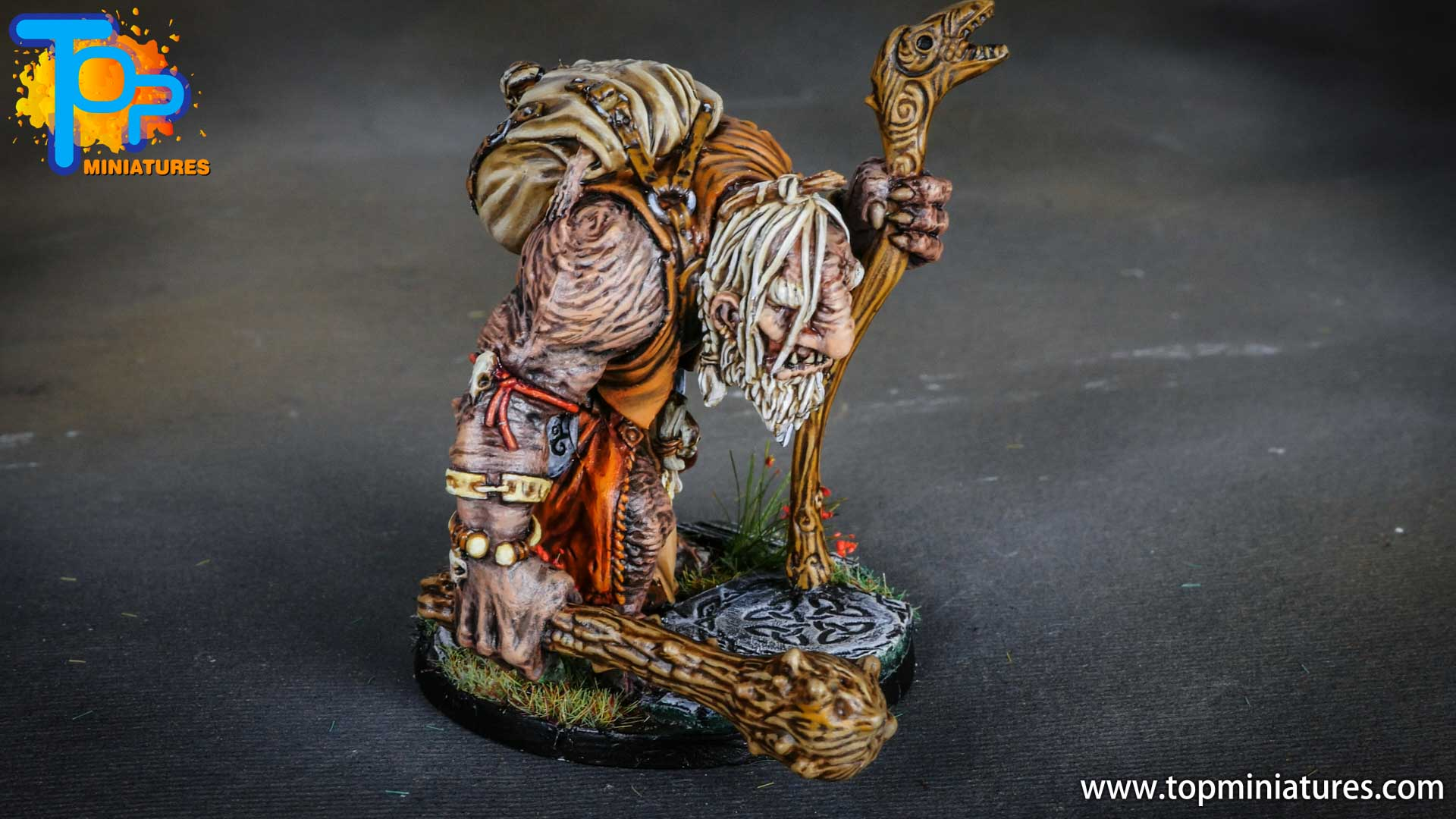 Blood rage painted mystic troll (13)