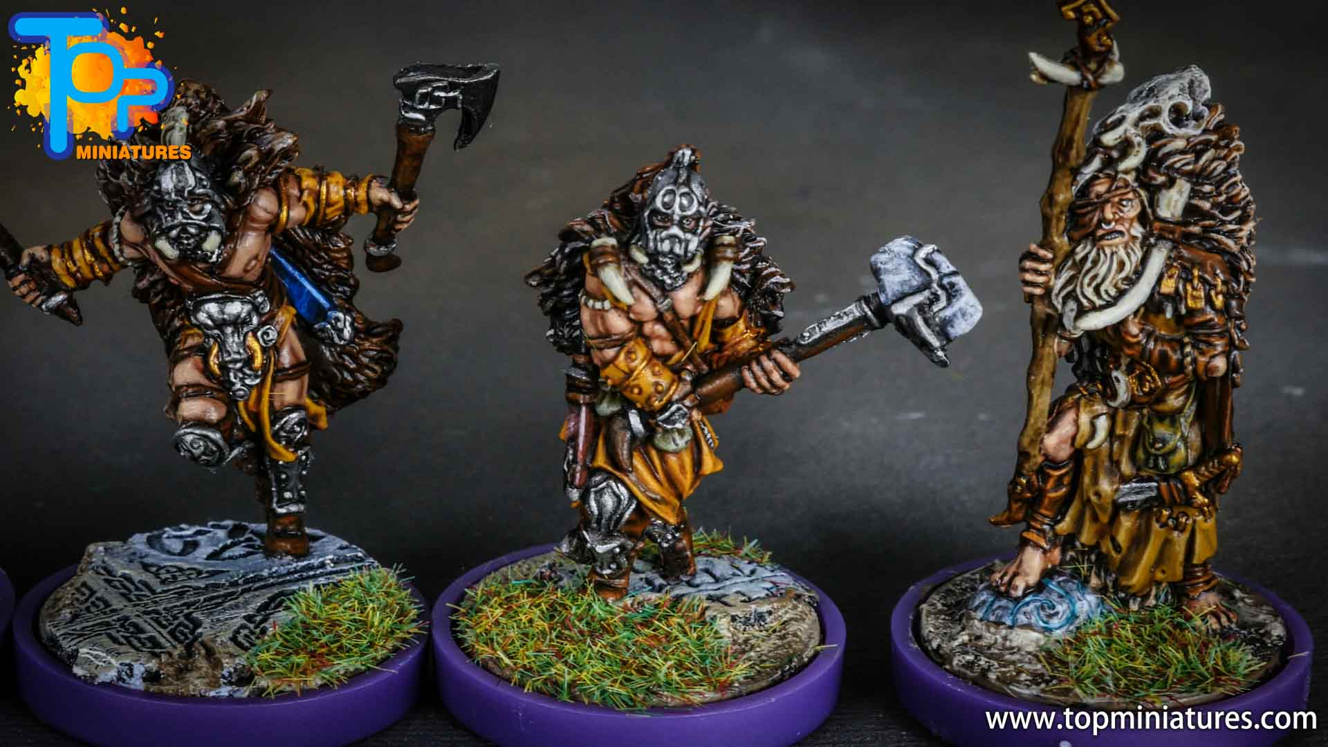 Blood rage painted wildboar clan (9)