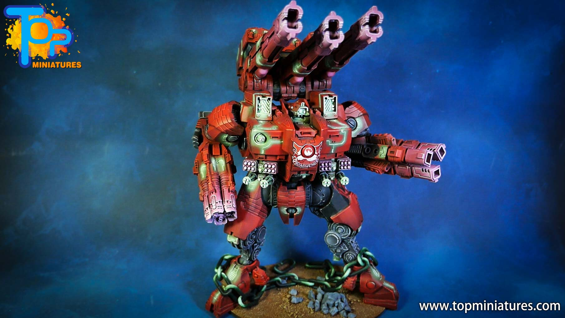 KX139 Ta'unar Supremacy Armour painted (1)