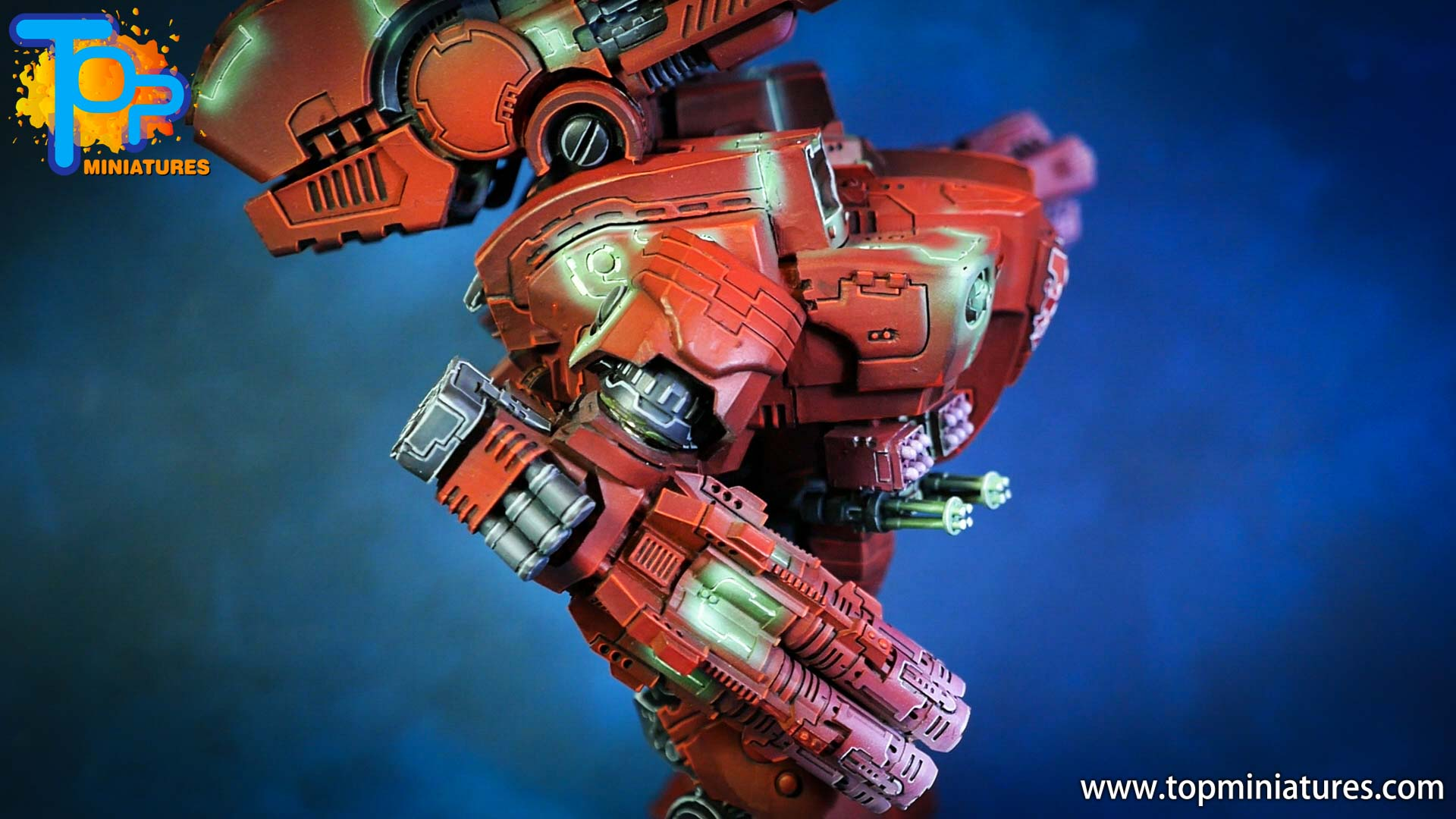 KX139 Ta'unar Supremacy Armour painted (11)