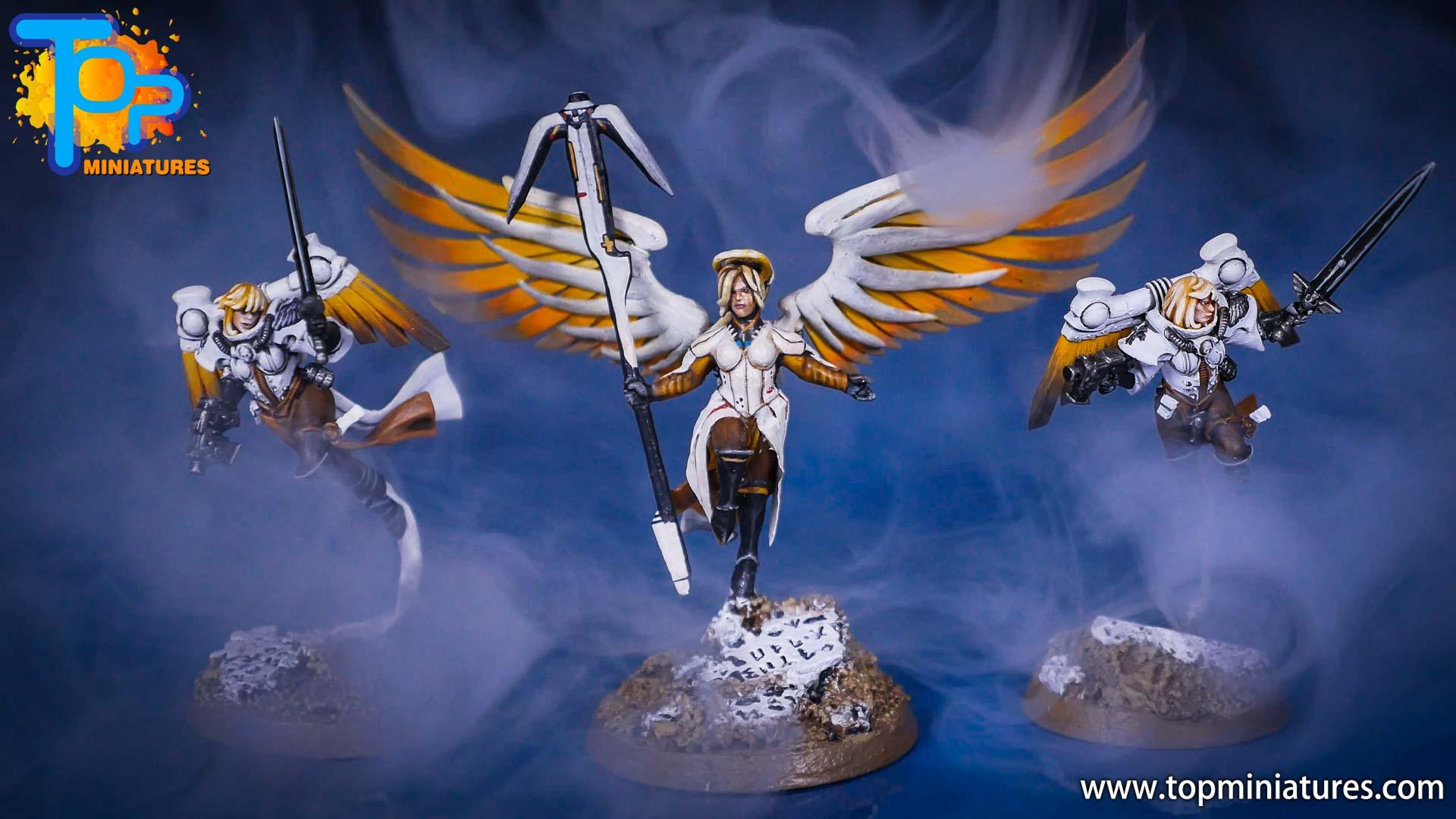Saint celestine converted Overwatch Mercy (3)
