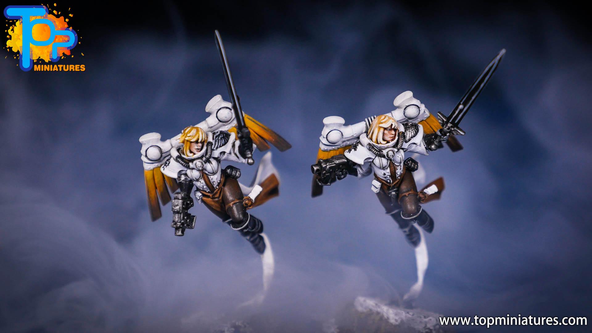 Saint celestine converted Overwatch Mercy (4)
