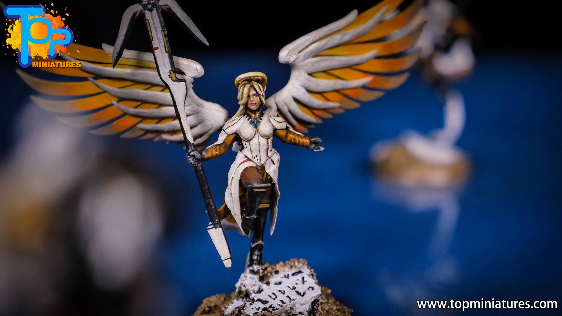 Saint celestine converted Overwatch Mercy (6)