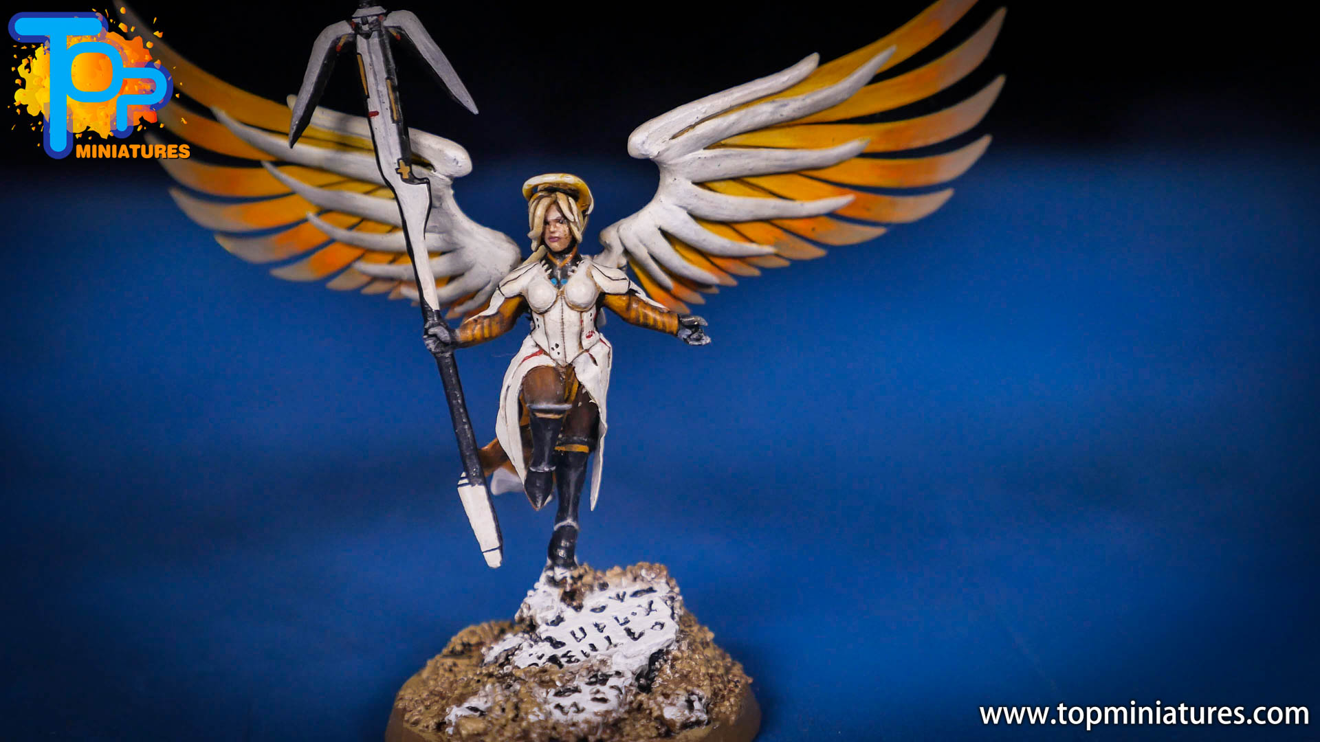 Saint celestine converted Overwatch Mercy (8)