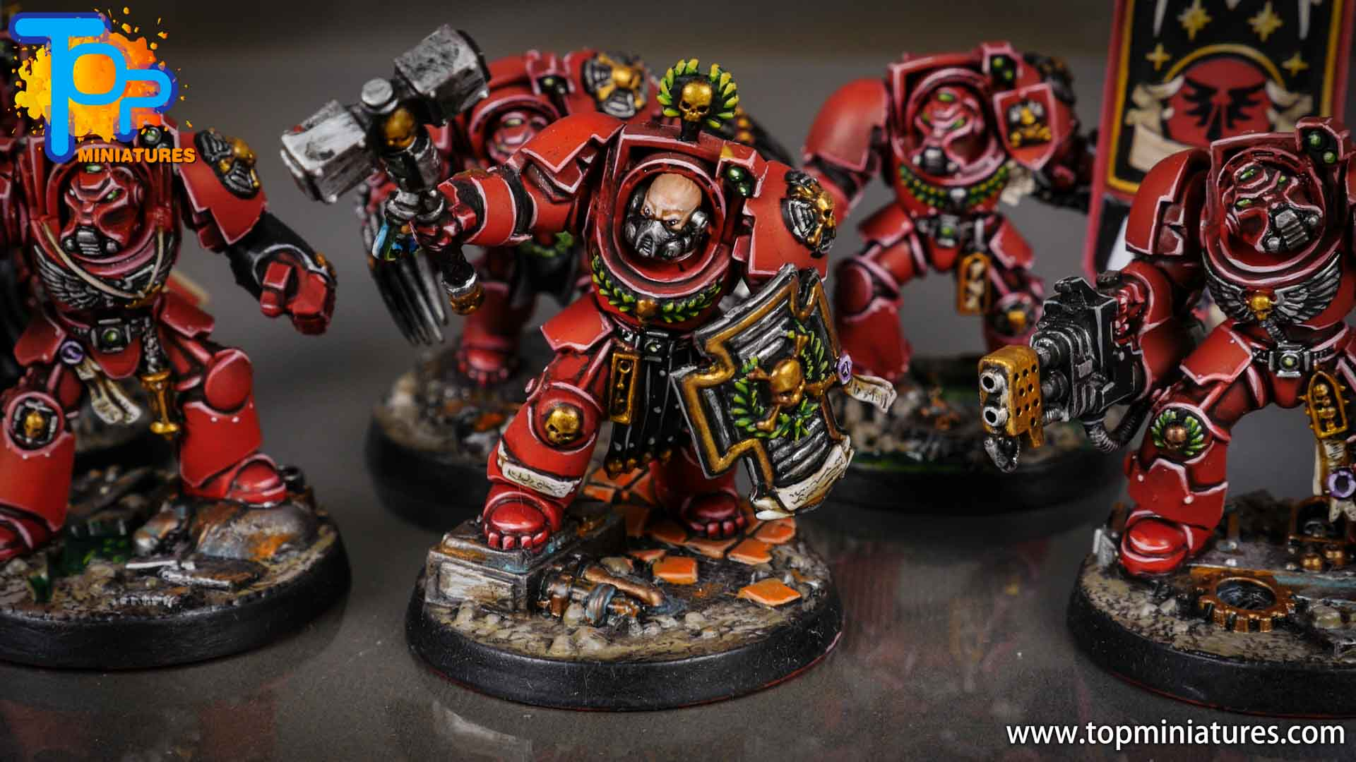 Space Marine Heroes - Blood Angels Terminators (17)