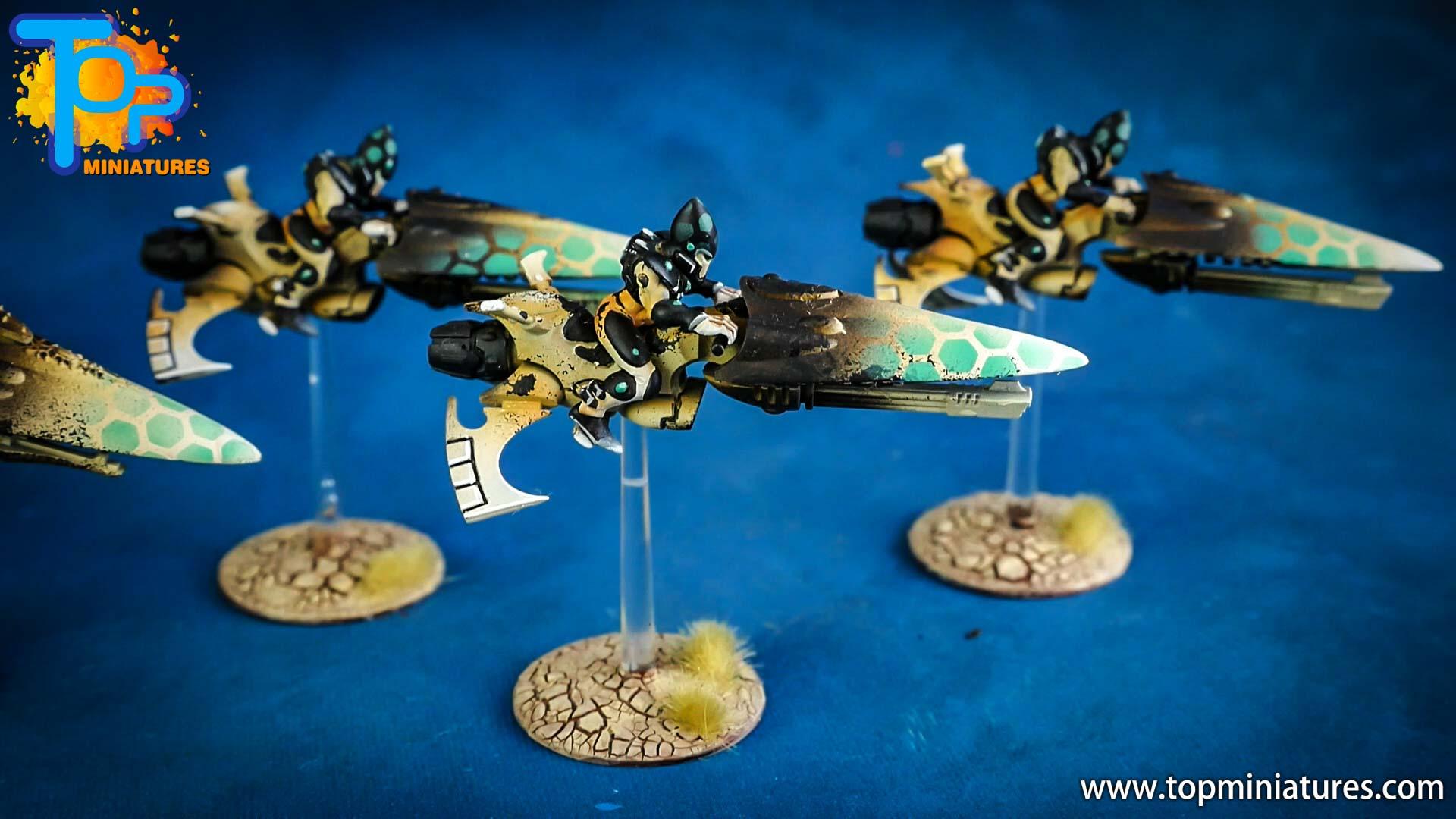 aeldari painted windrider jetbike (3)