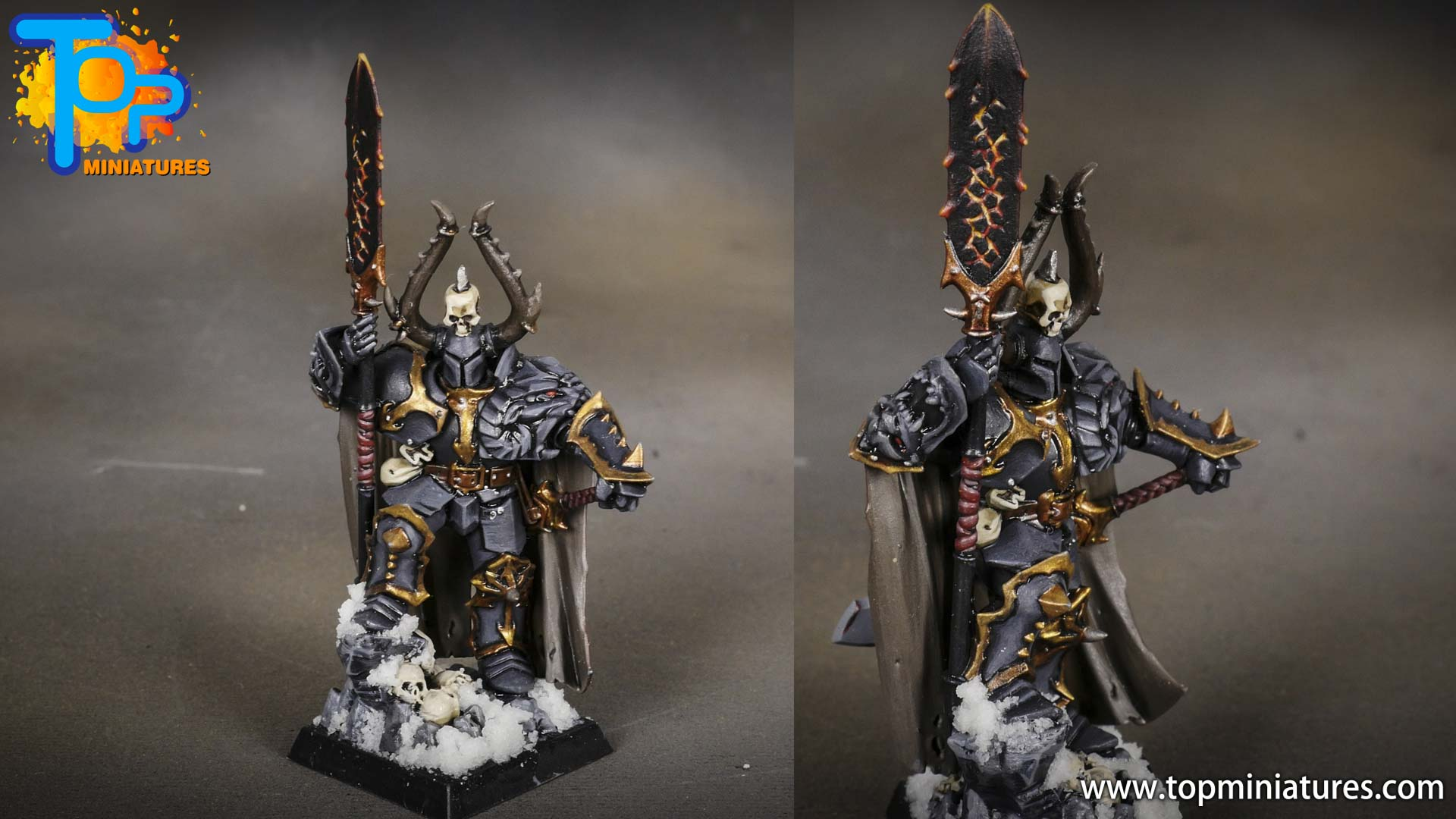 age of sigmar painted chaos lord (1)