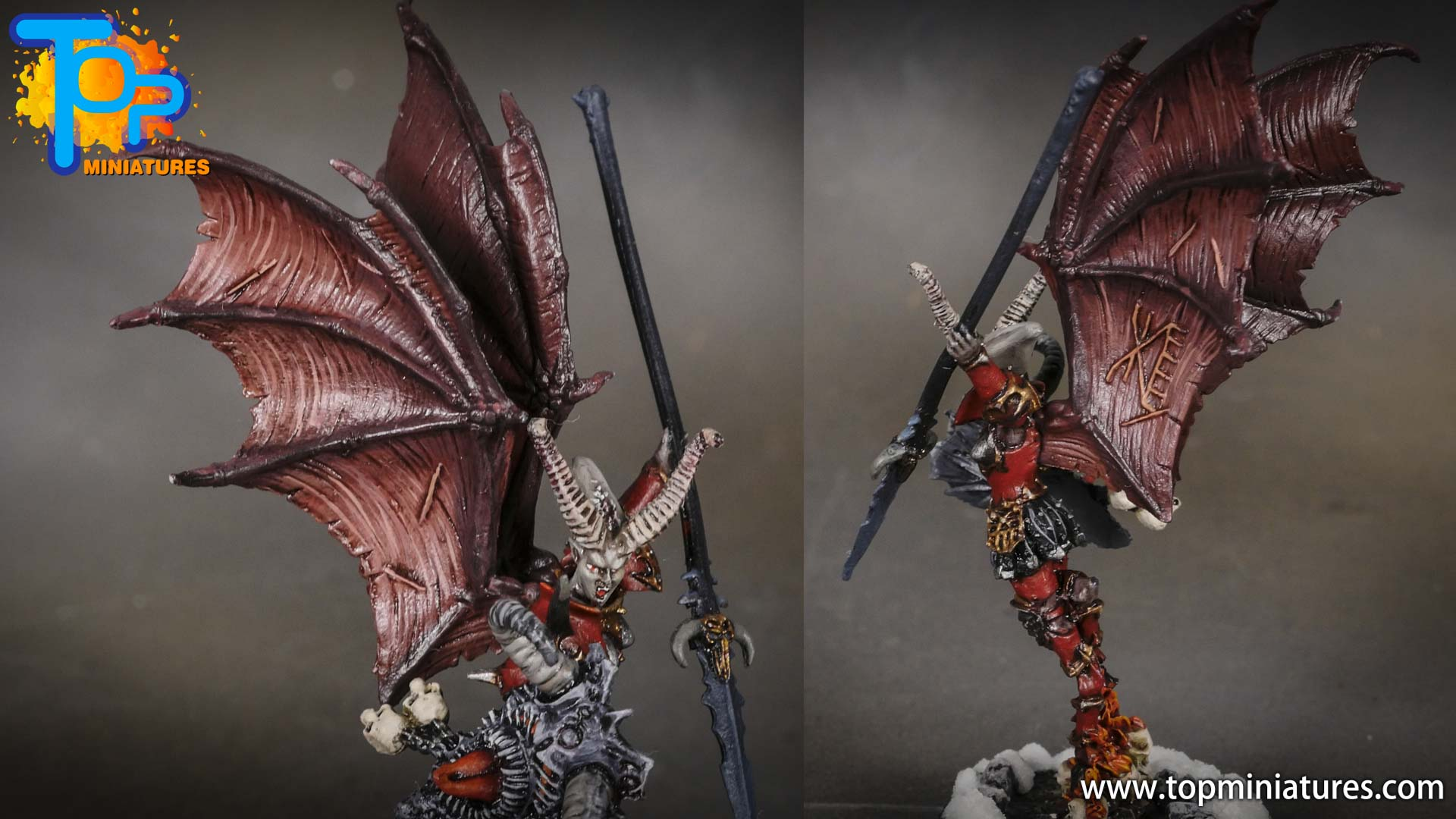 age of sigmar painted valkia the bloody (2)