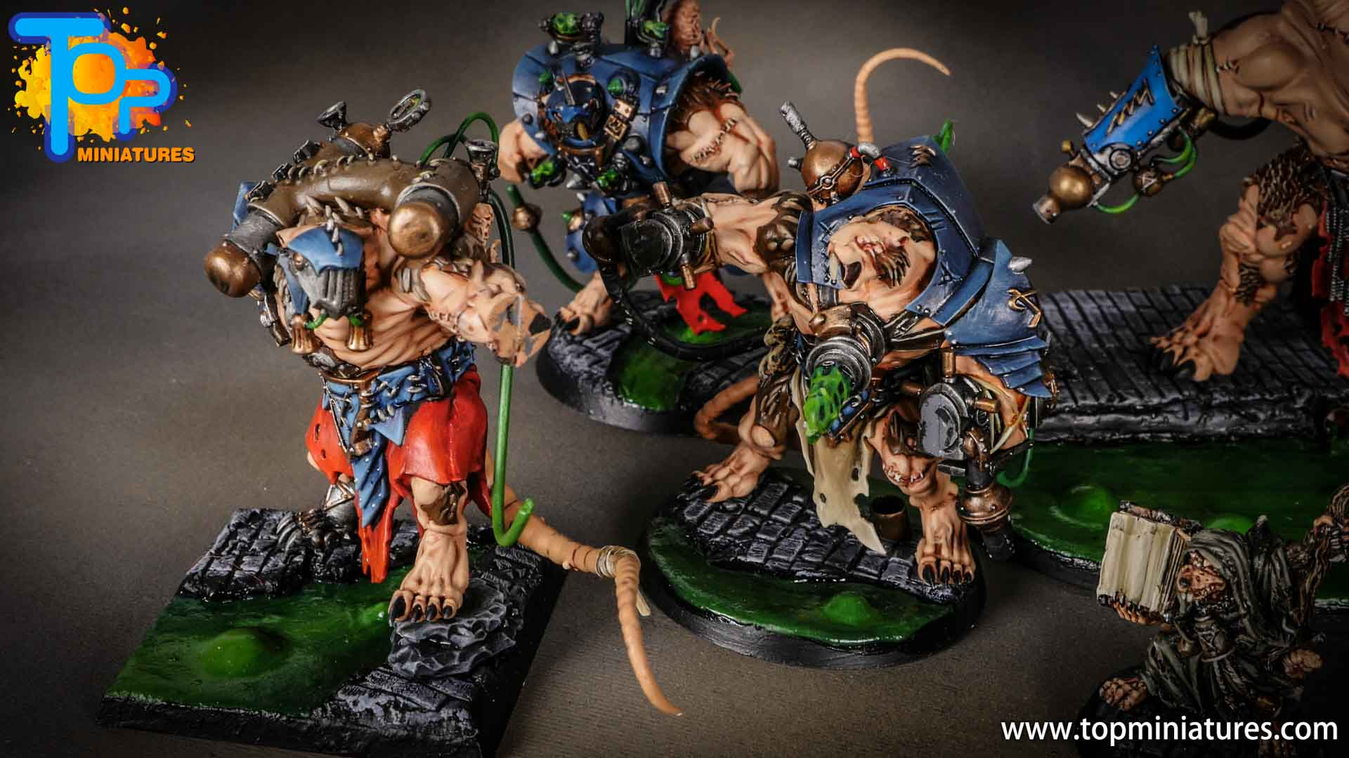 age of sigmar skaven painted stormfiends (3)